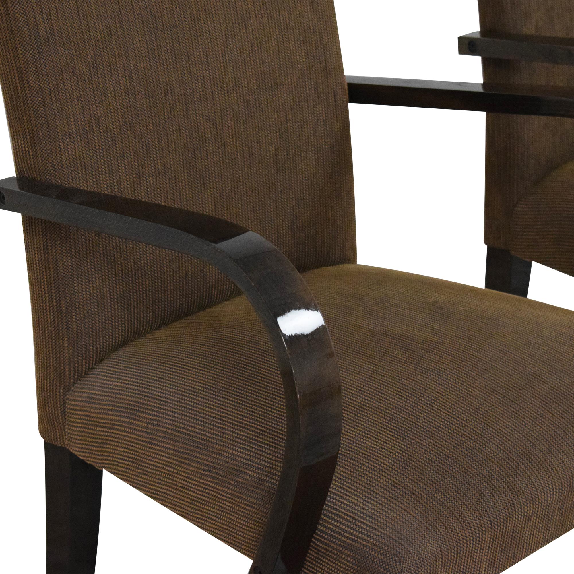 Pietro Costantini Pietro Costantini High Back Dining Arm Chairs price