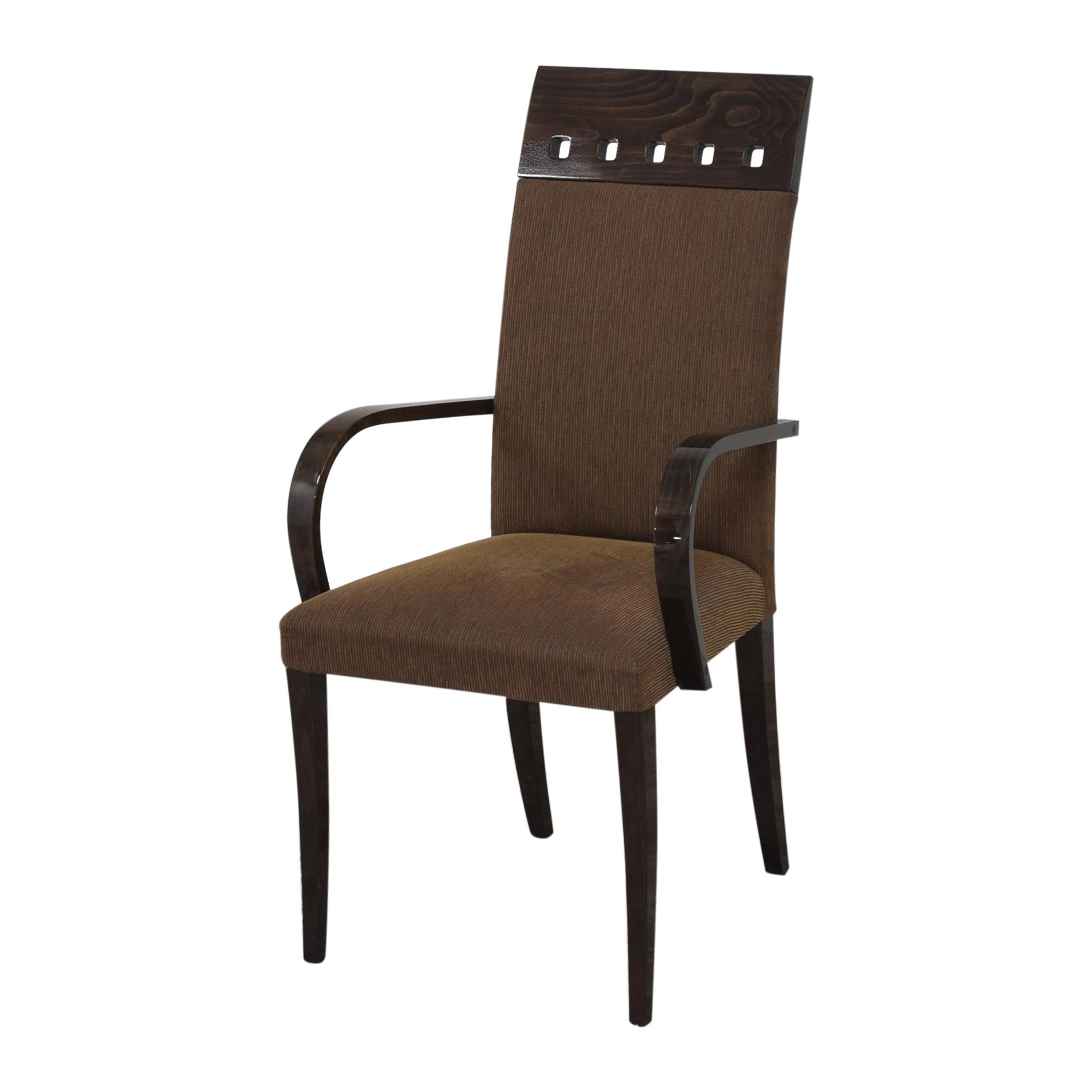 Pietro Costantini Pietro Costantini High Back Dining Arm Chairs ma