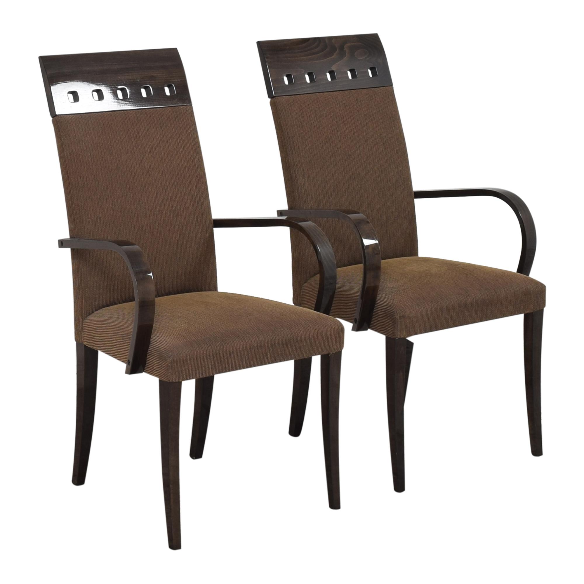 shop Pietro Costantini High Back Dining Arm Chairs Pietro Costantini Chairs