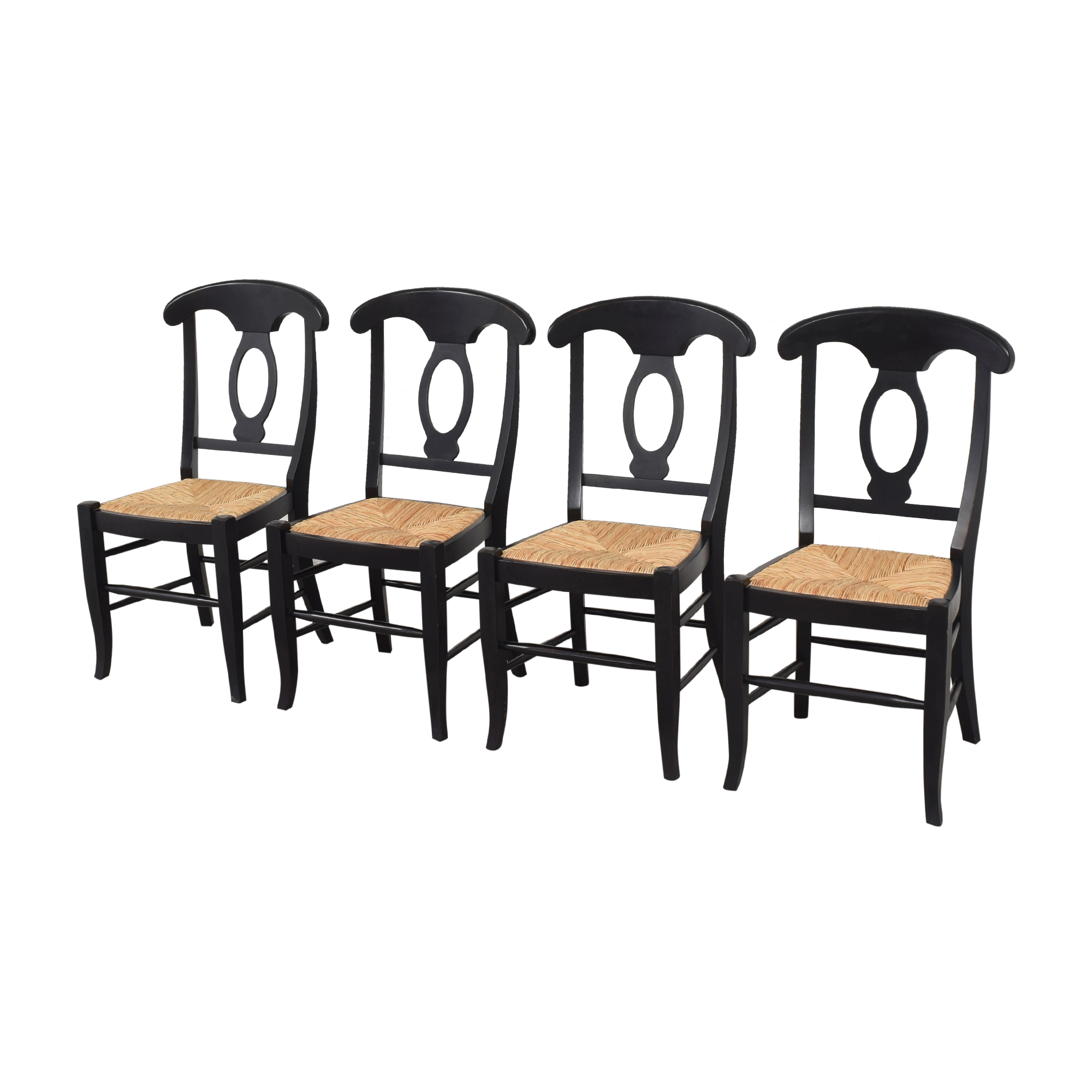 Pottery Barn Napoleon Dining Side Chairs sale