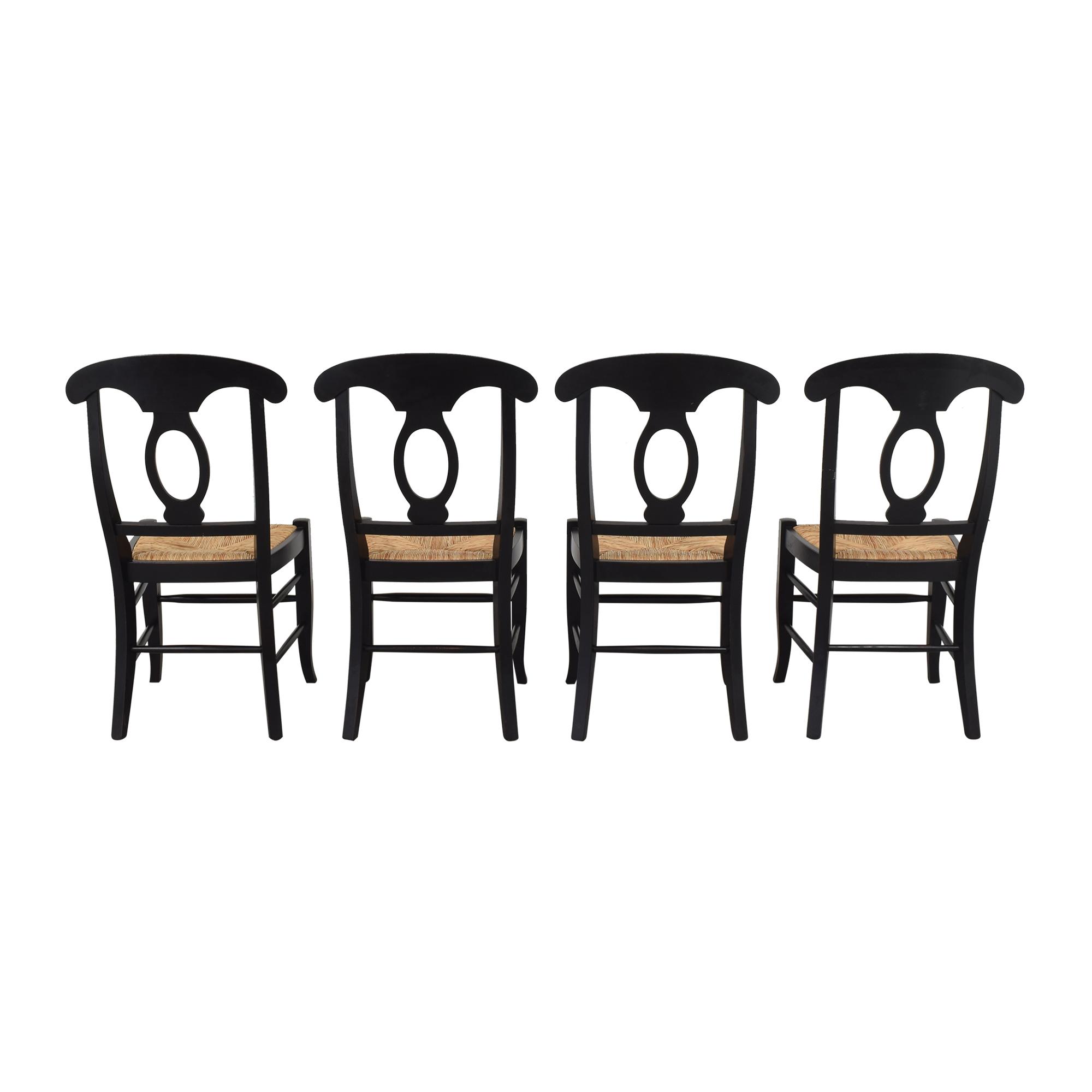 Pottery Barn Pottery Barn Napoleon Dining Side Chairs ma