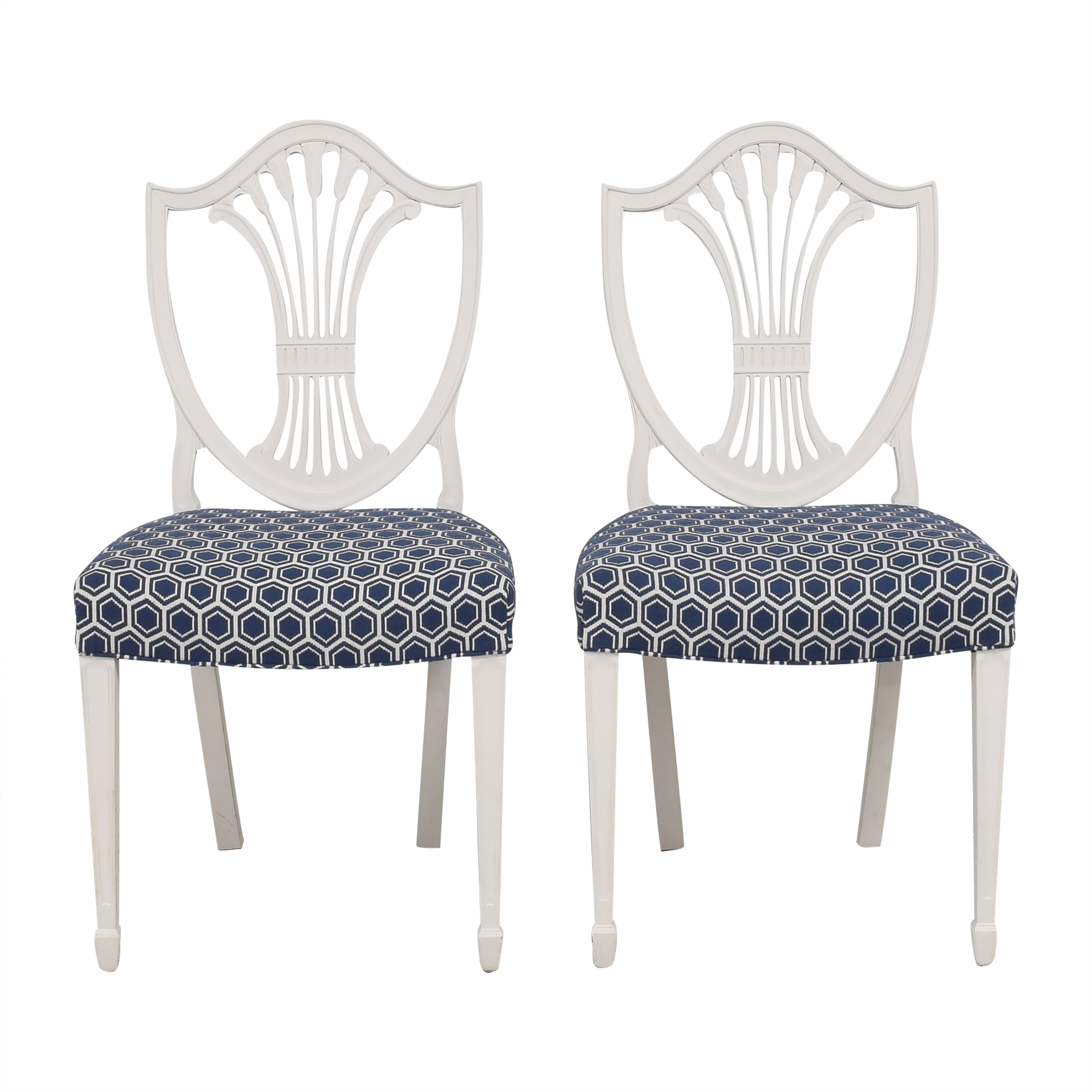 buy Shield Back Dining Chairs  Dining Chairs