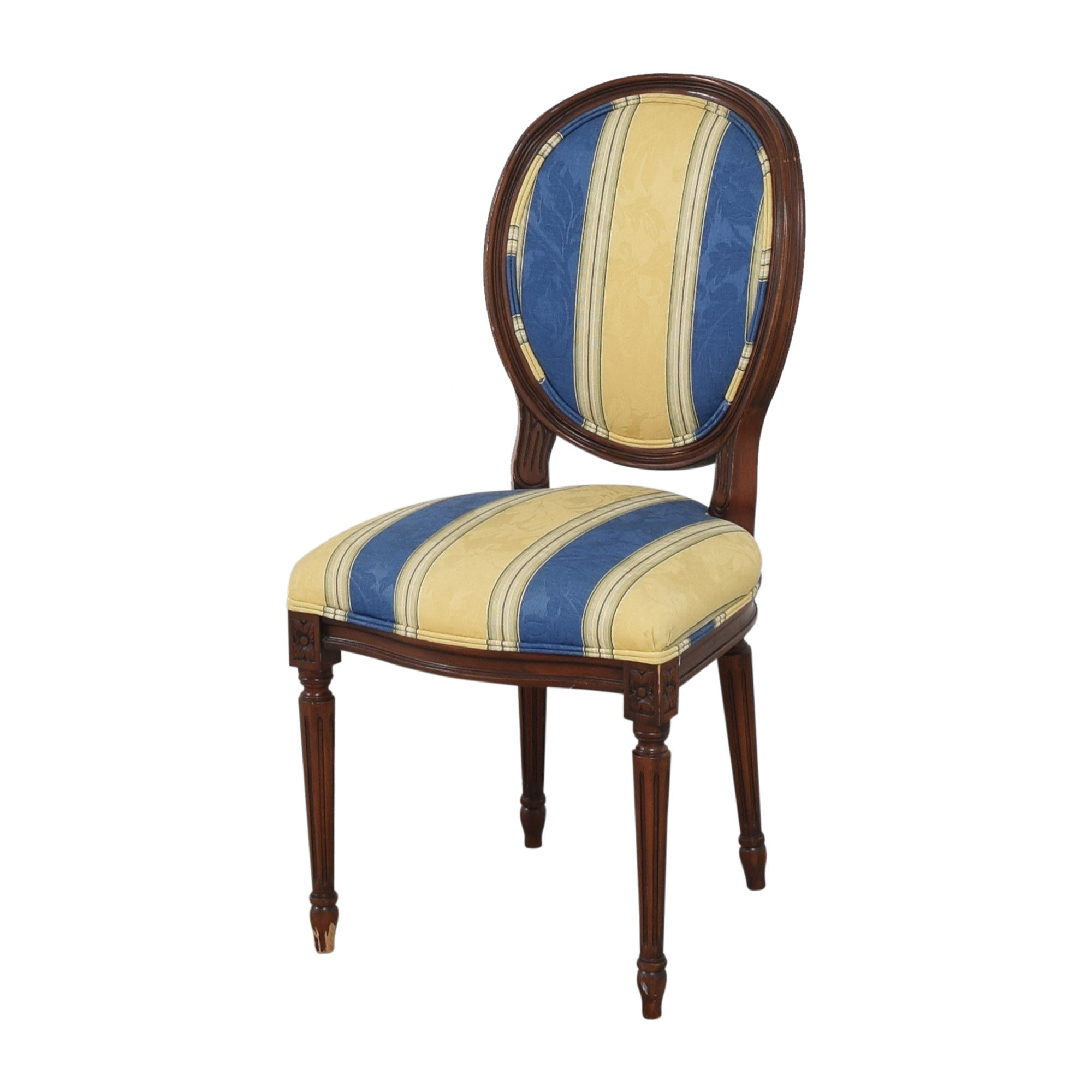 buy Calico Calico Corners Striped Round Back Dining Side Chairs online