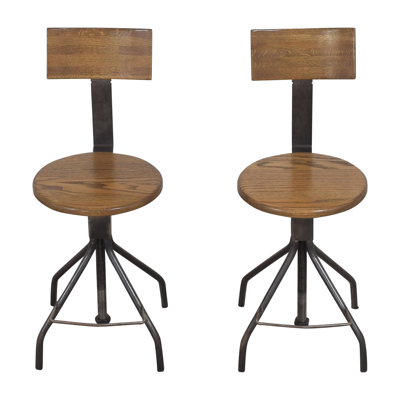 Rejuvenation Rejuvenation Industrial Bar Stools Chairs