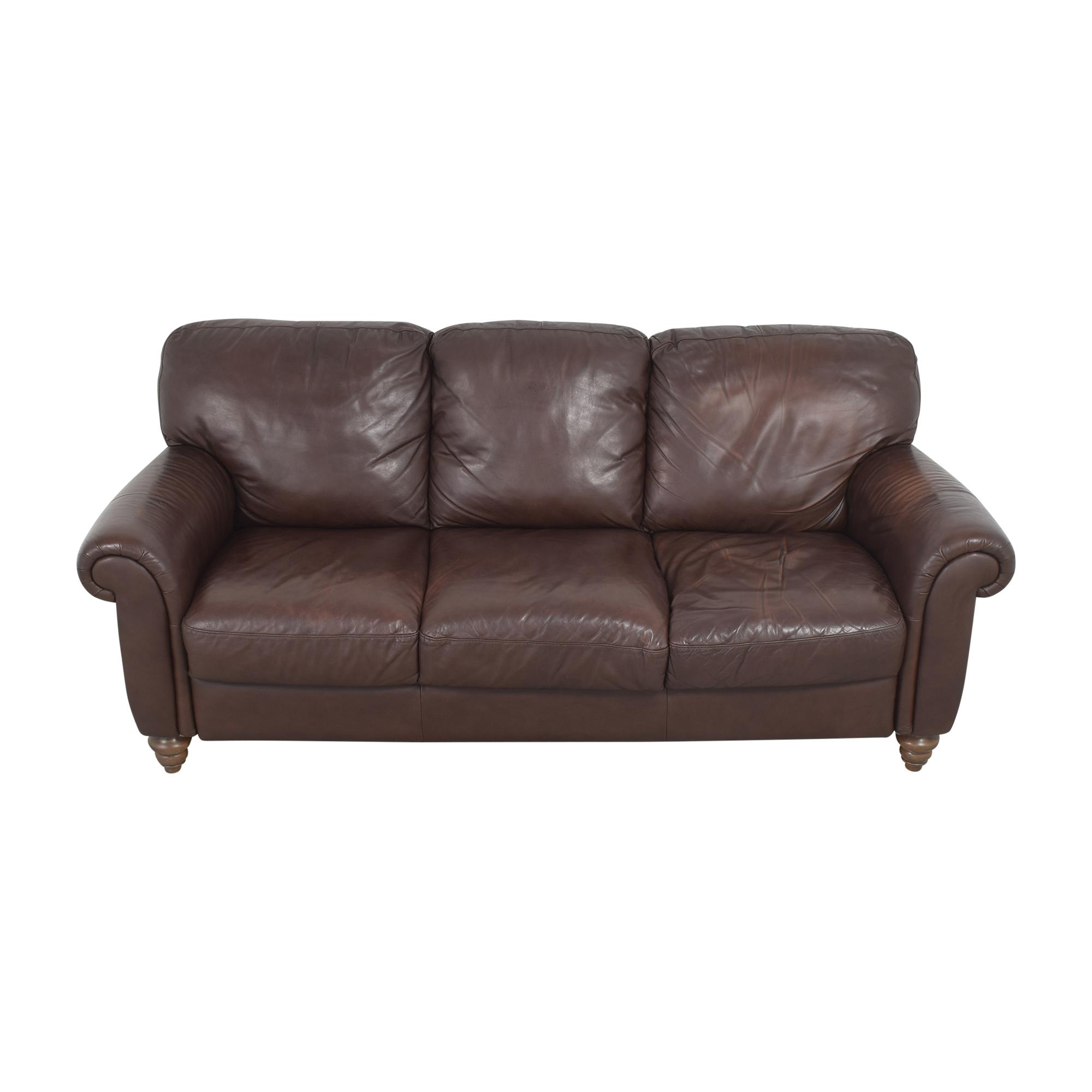 Macy's by Italsofa Roll Arm Sofa  / Sofas