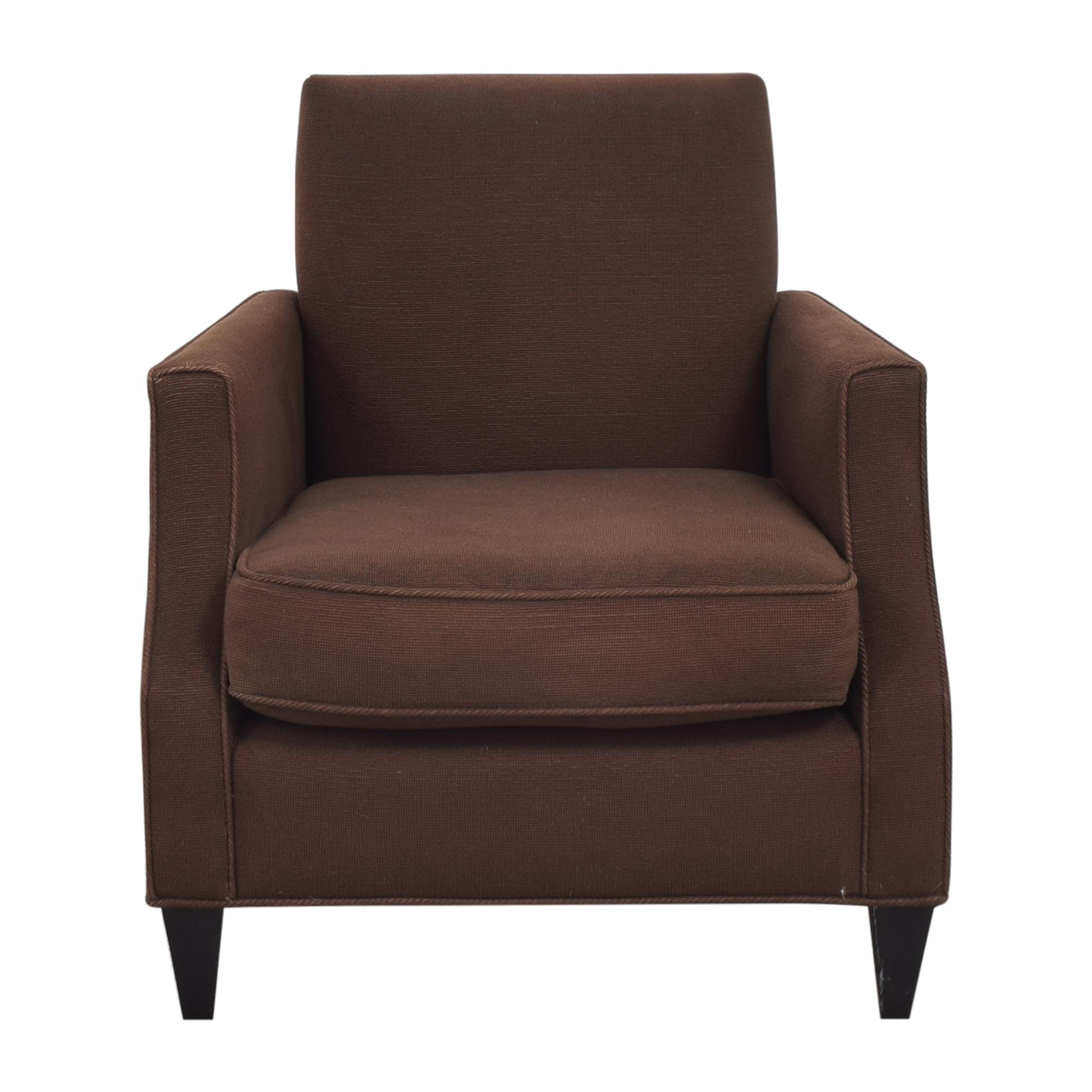 Crate & Barrel Crate & Barrel Fabric Arm Chair ct