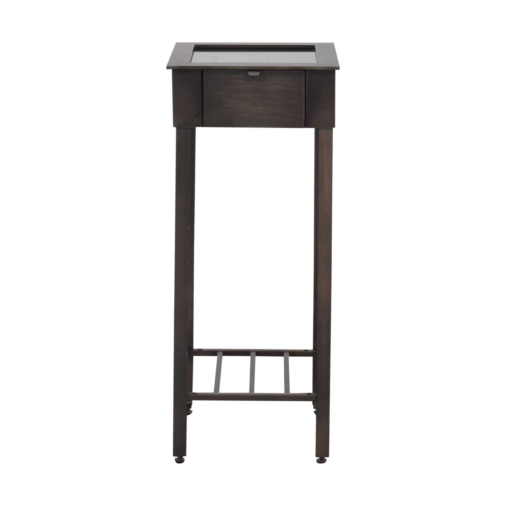Crate & Barrel Crate & Barrel Showcase Accent Table