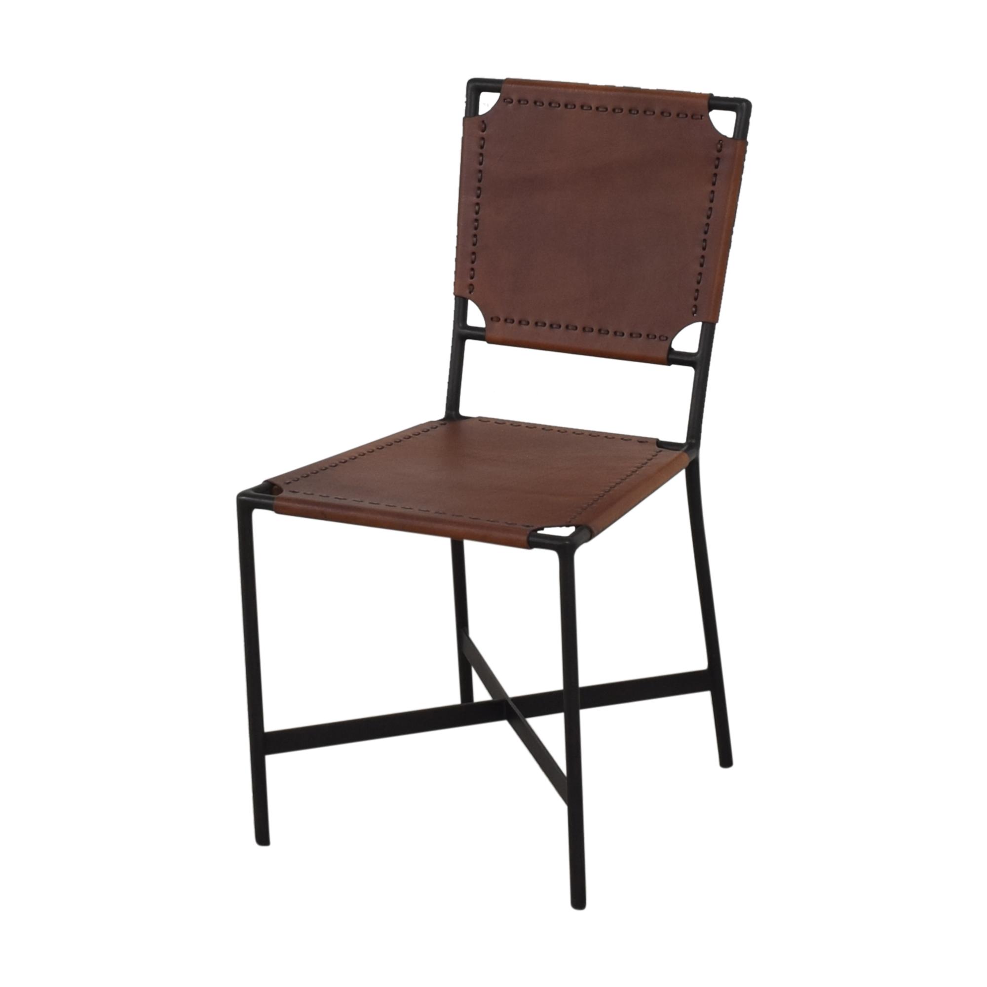 Crate & Barrel Crate & Barrel Laredo Dining Chairs dimensions