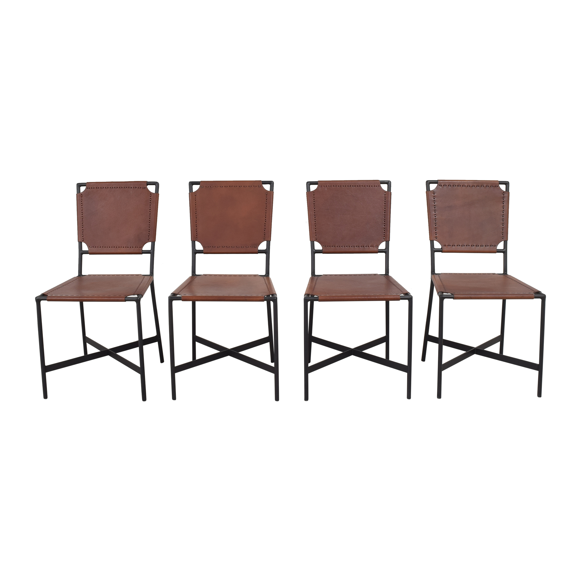 Crate & Barrel Crate & Barrel Laredo Dining Chairs Dining Chairs