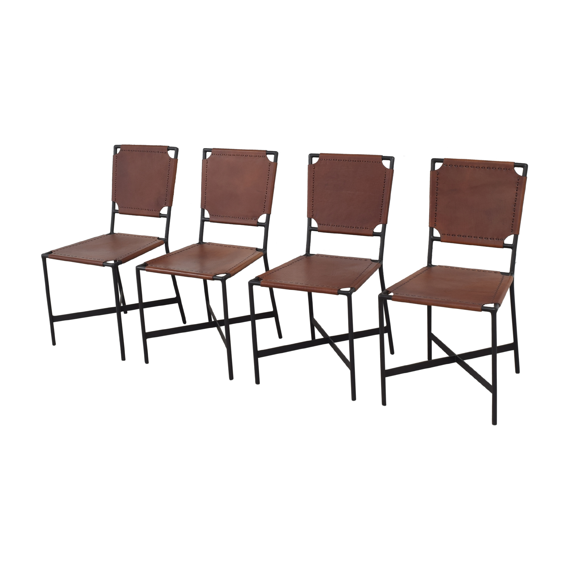 shop Crate & Barrel Laredo Dining Chairs Crate & Barrel Dining Chairs