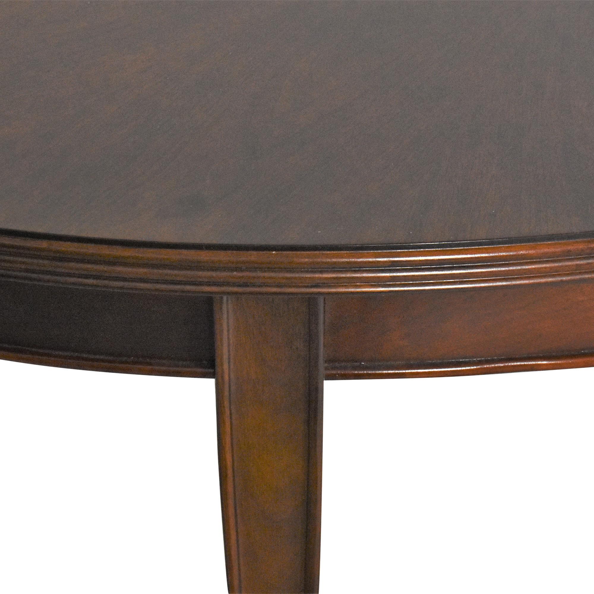 shop Stanley Furniture Hudson Street Riverside Dining Table Stanley Furniture Dinner Tables