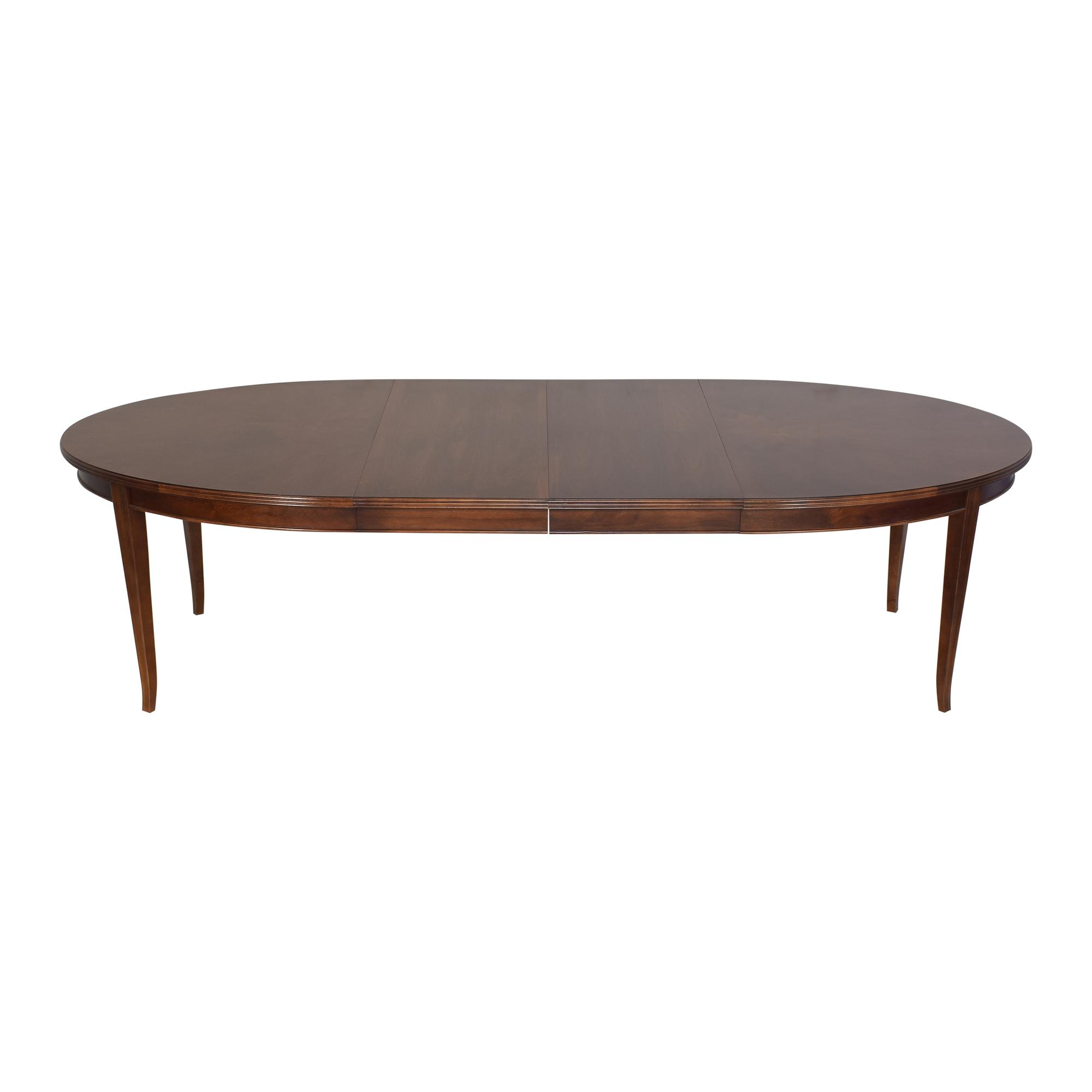 Stanley Furniture Stanley Furniture Hudson Street Riverside Dining Table dimensions