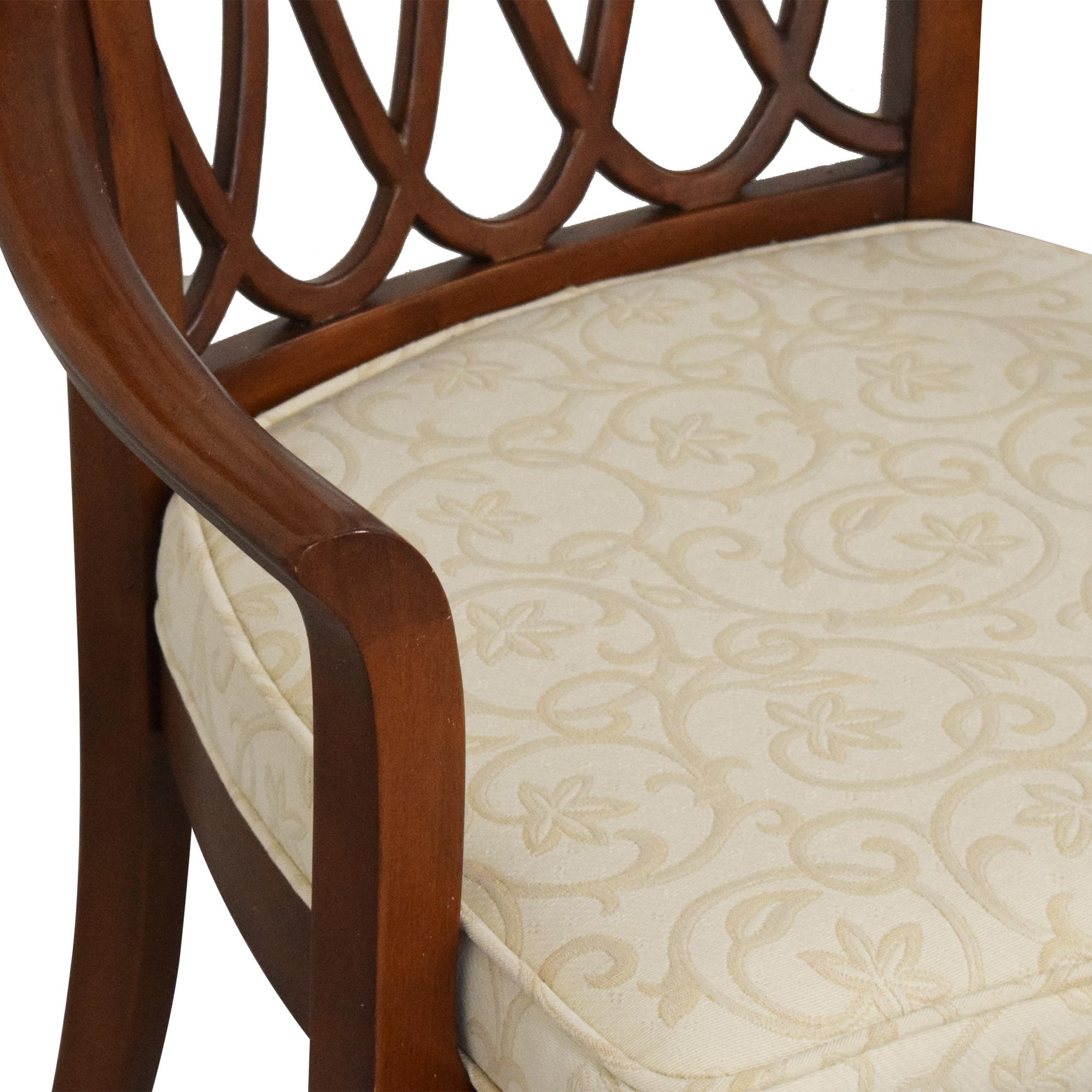 Stanley Furniture Stanley Furniture Hudson Street Dining Chairs off white and brown