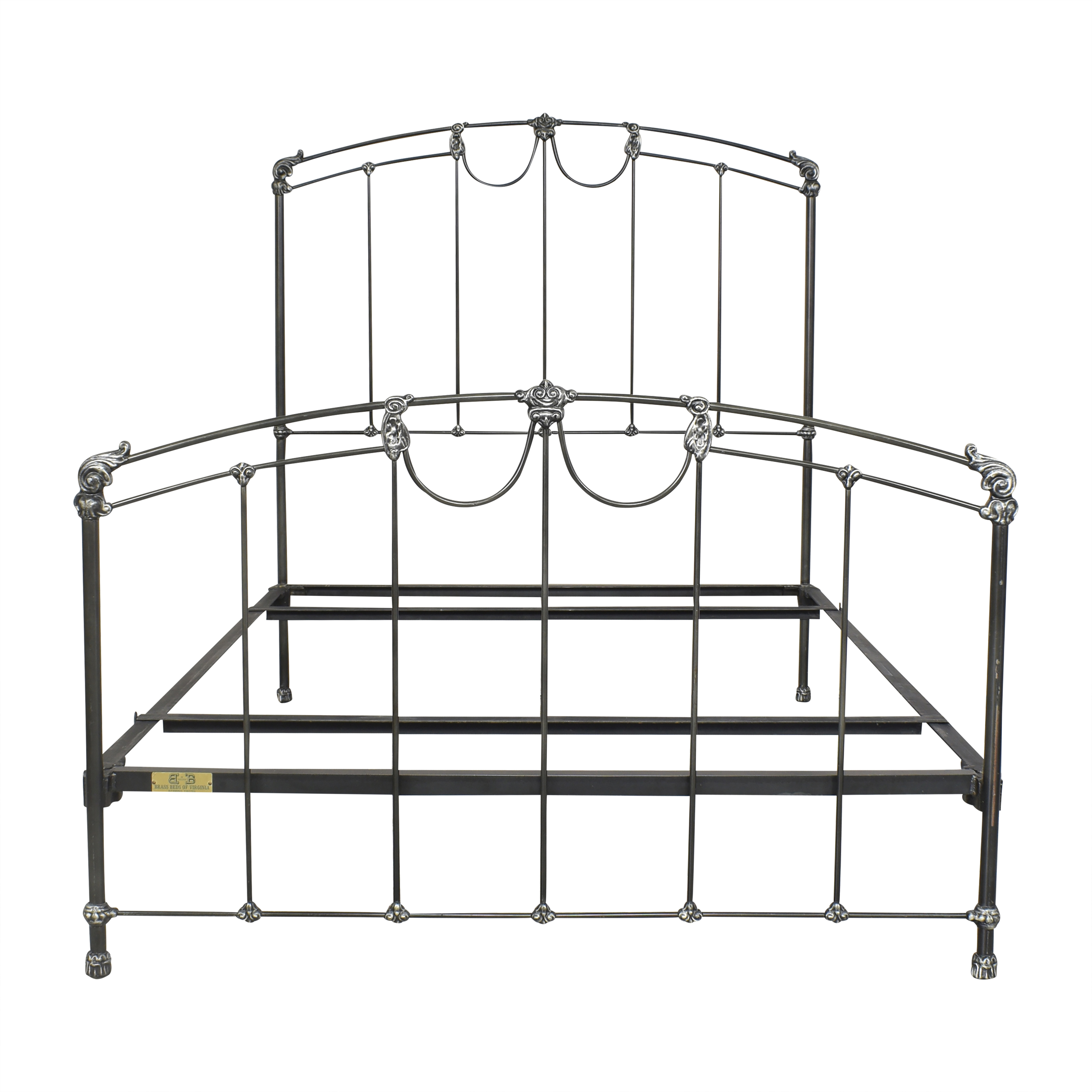 Brass Beds of Virginia Brass Beds of Virginia Openwork Full Bed pa