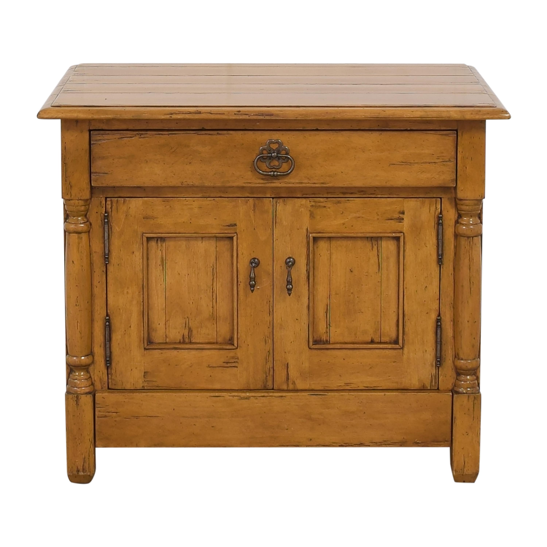 Bausman Bausman Single Drawer End Table Cabinet nj