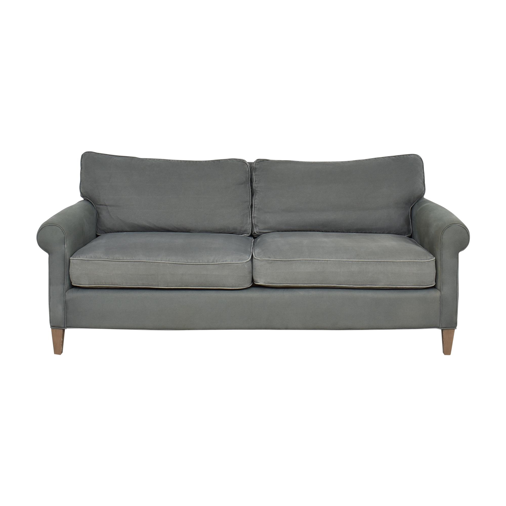 Crate & Barrel Roll Arm Sofa / Classic Sofas