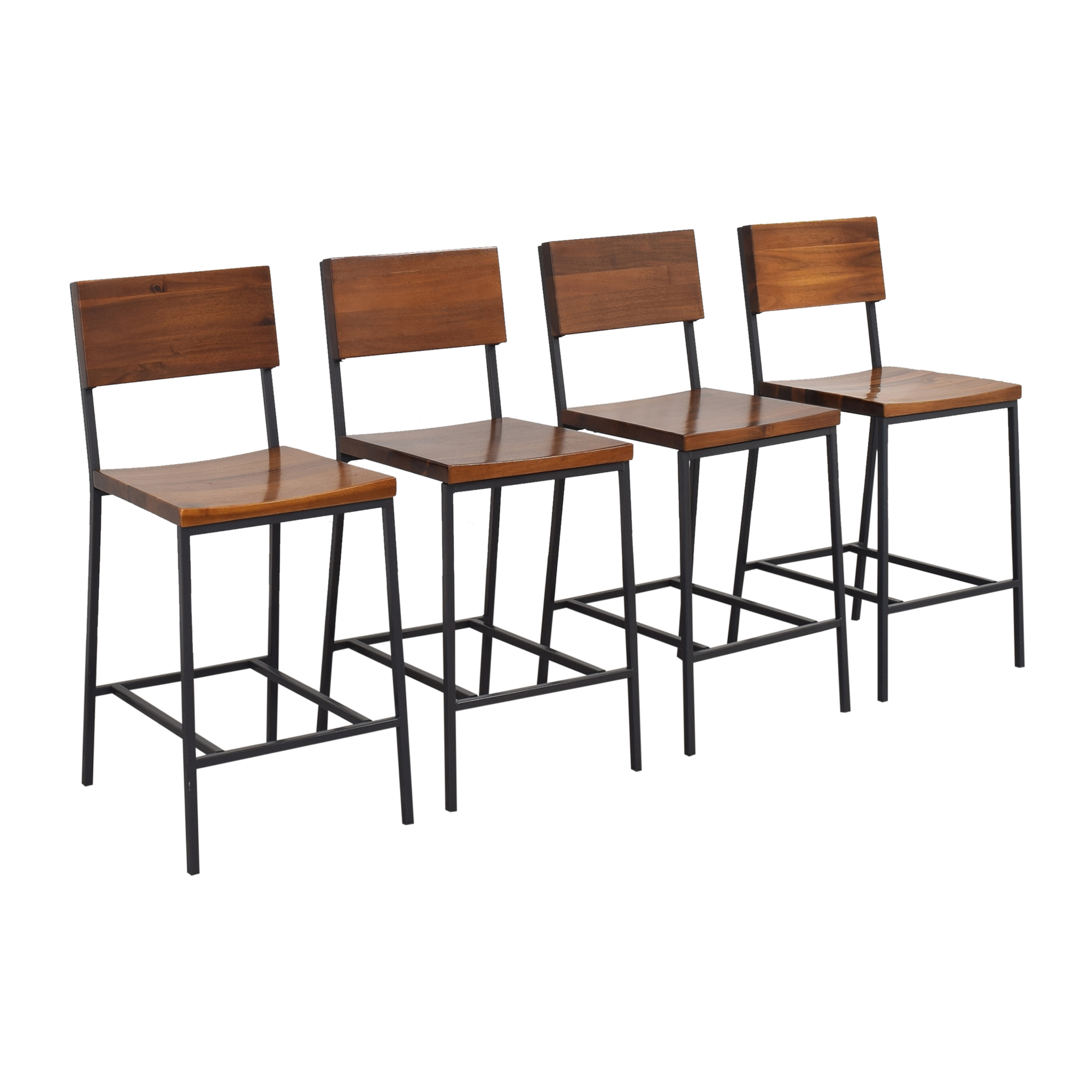 shop West Elm Rustic Counter Stools West Elm Chairs