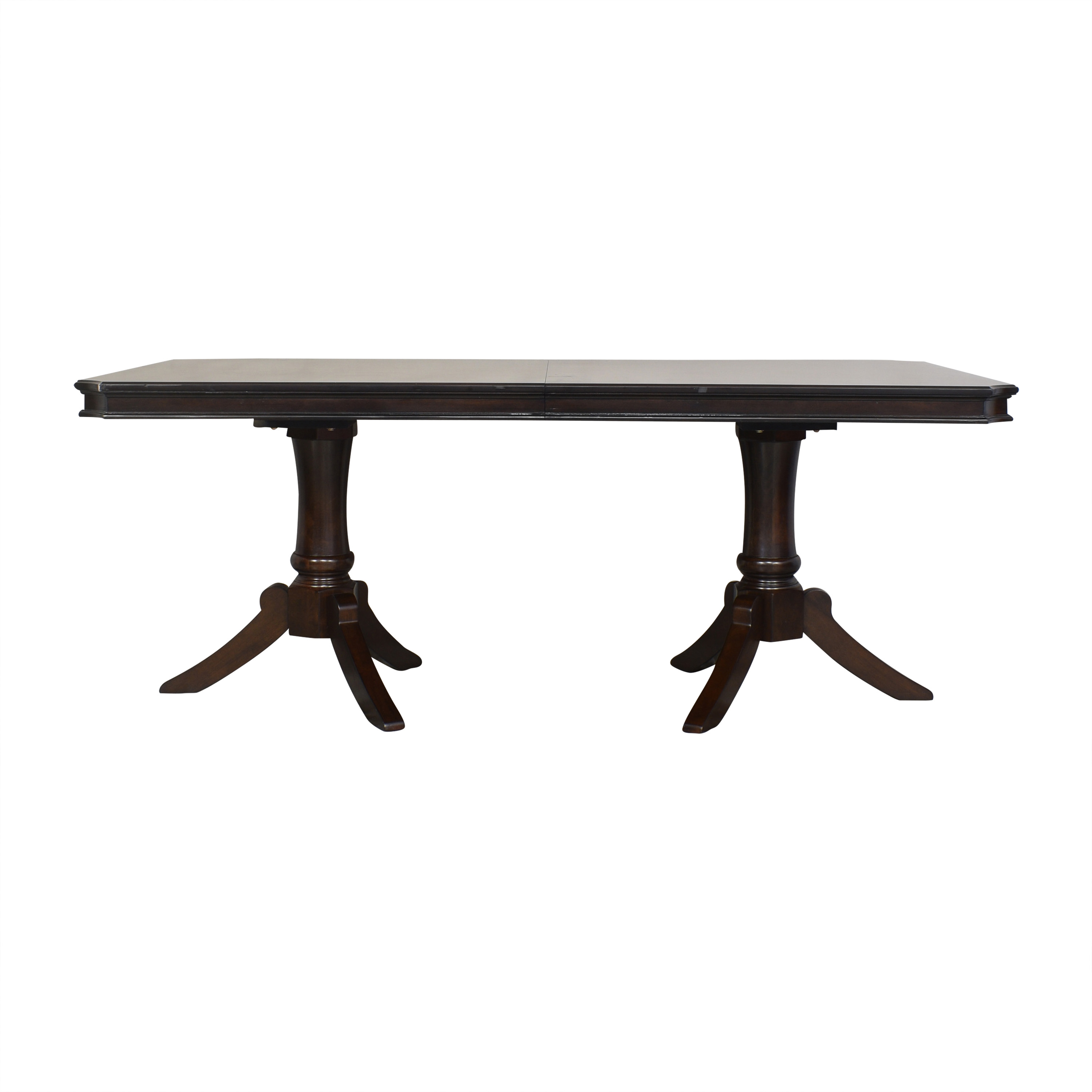 Raymour & Flanigan Raymour & Flanagan Extendable Dining Table for sale