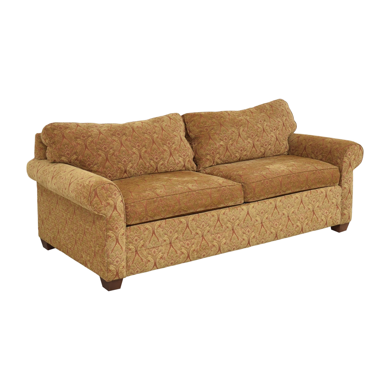 Ethan Allen Ethan Allen Bennett Roll Arm Two Seat Sofa second hand