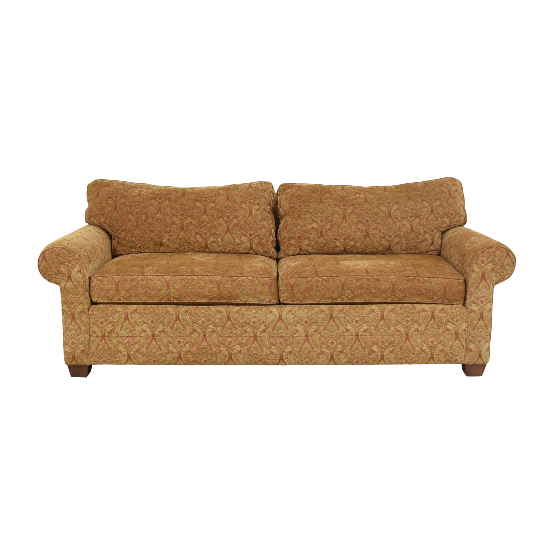 Ethan Allen Ethan Allen Bennett Roll Arm Two Seat Sofa ct