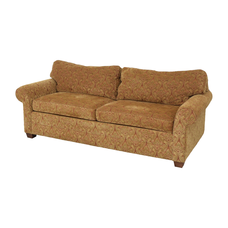 Ethan Allen Ethan Allen Bennett Roll Arm Two Seat Sofa pa