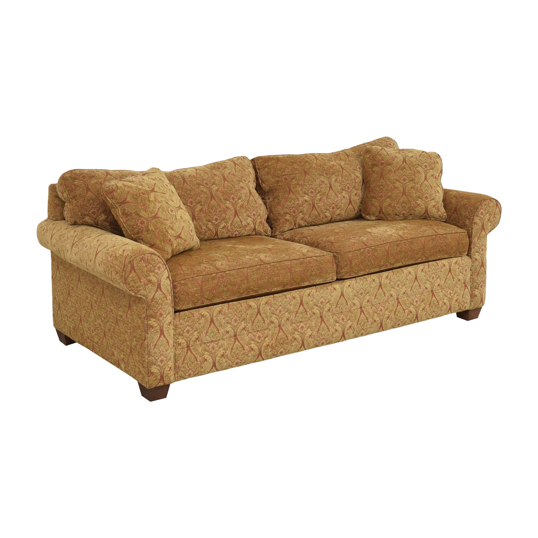Ethan Allen Ethan Allen Bennett Roll Arm Two Seat Sofa dimensions