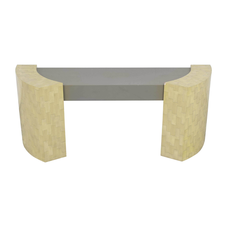Custom Console Table used