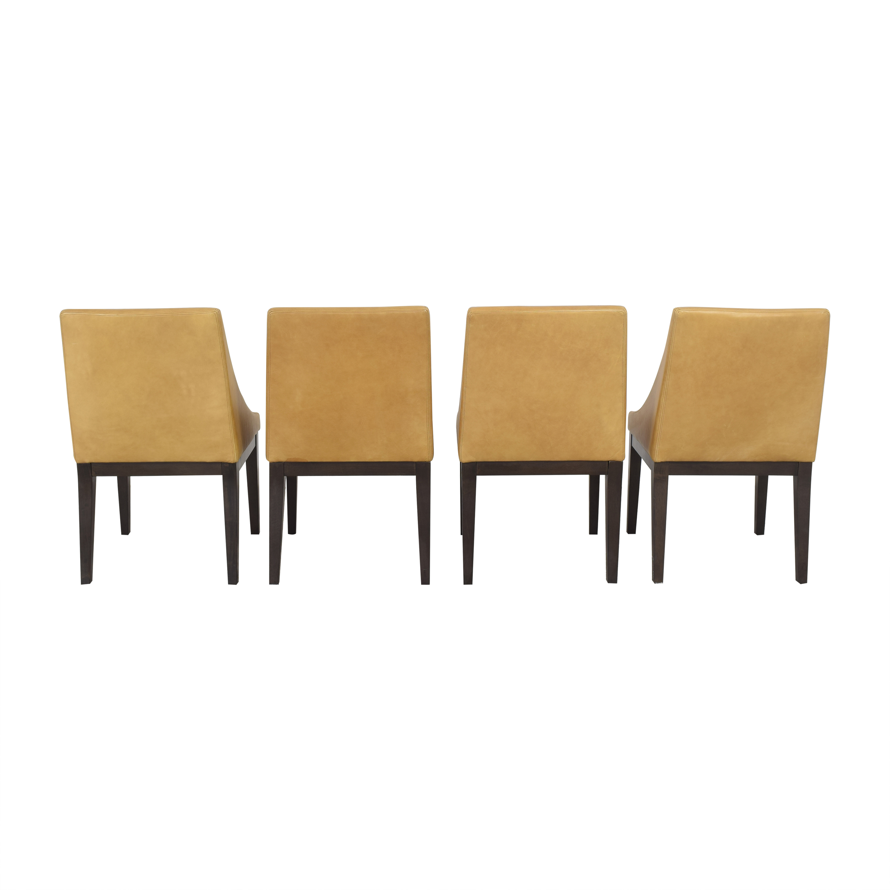 shop West Elm Curved Upholstered Chairs West Elm