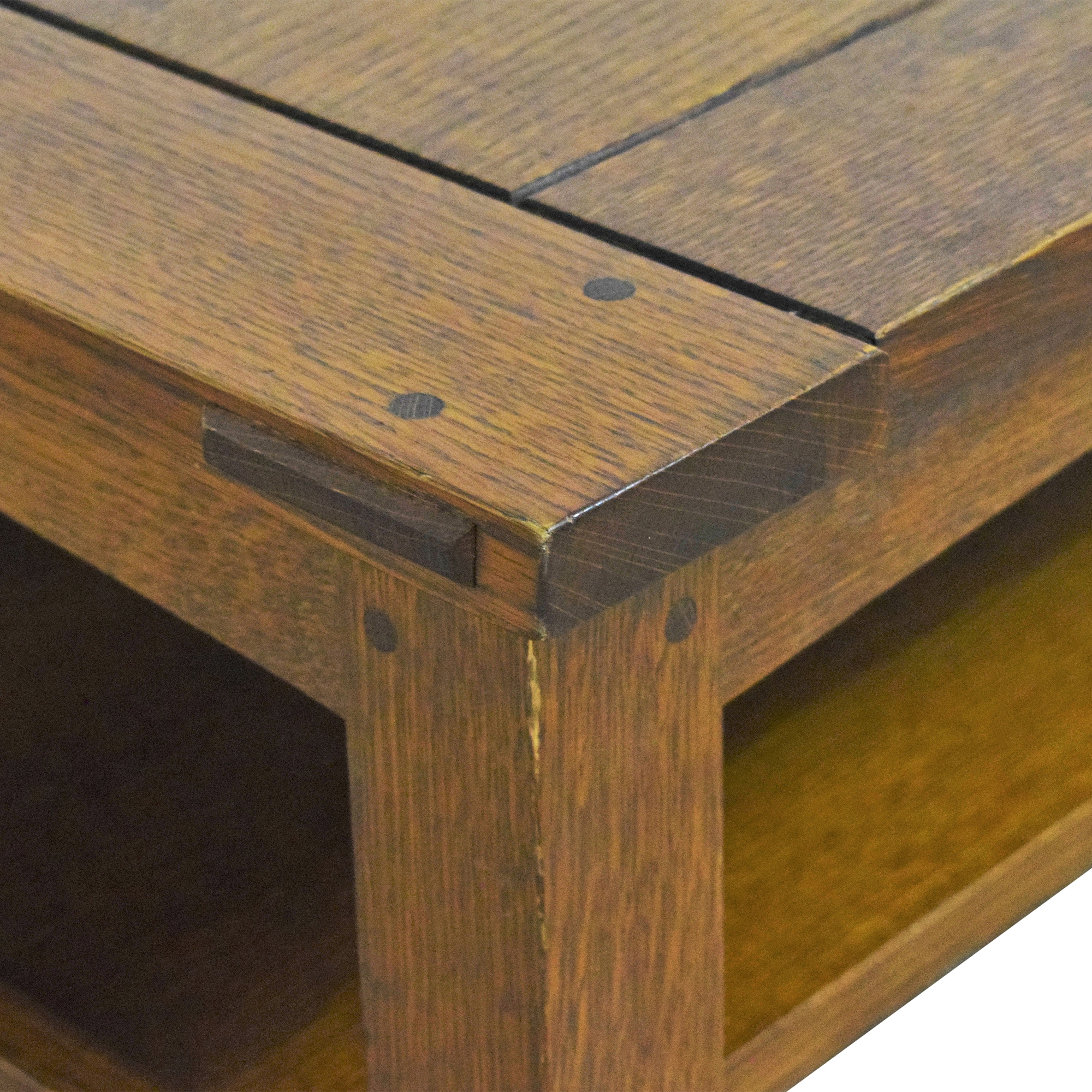 buy Stickley Furniture Stickley Butterfly Top Cocktail Table online
