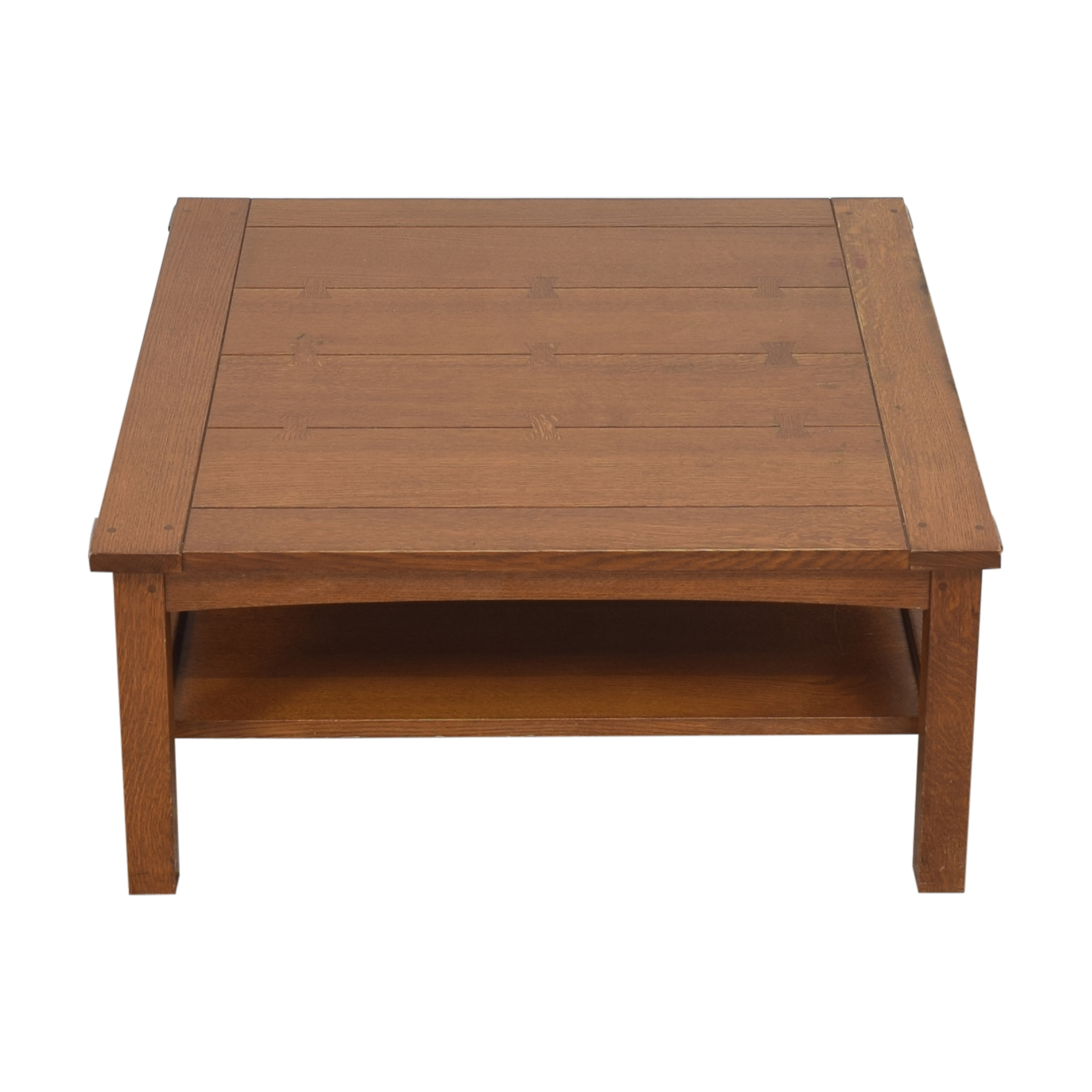 buy Stickley Butterfly Top Cocktail Table Stickley Furniture Coffee Tables