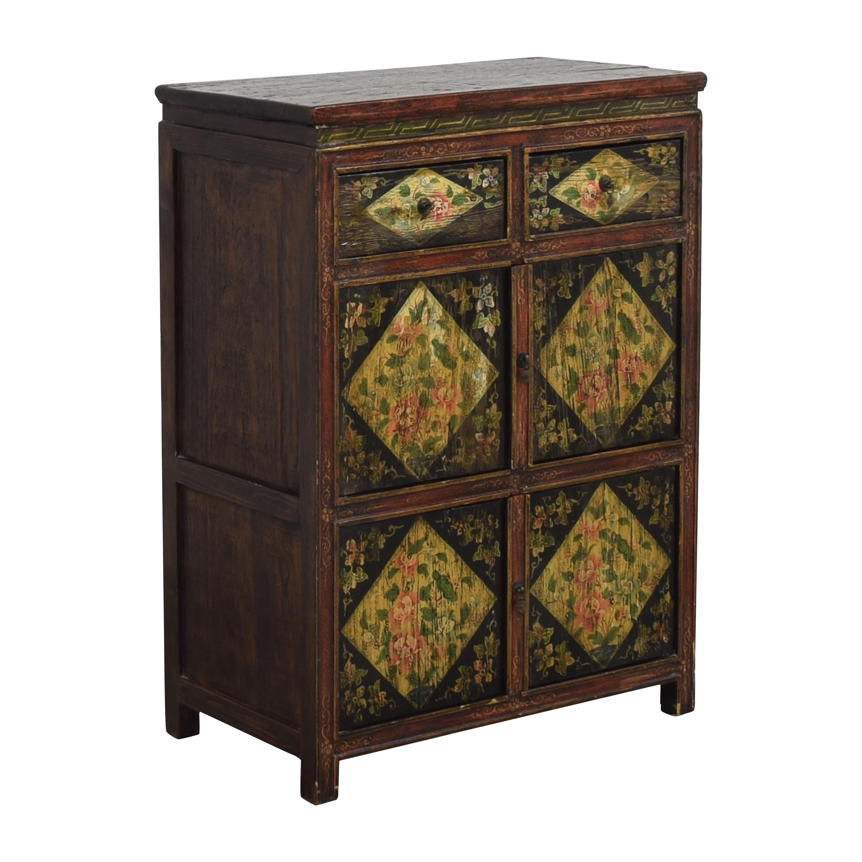 shop  Vintage Floral Cabinet online