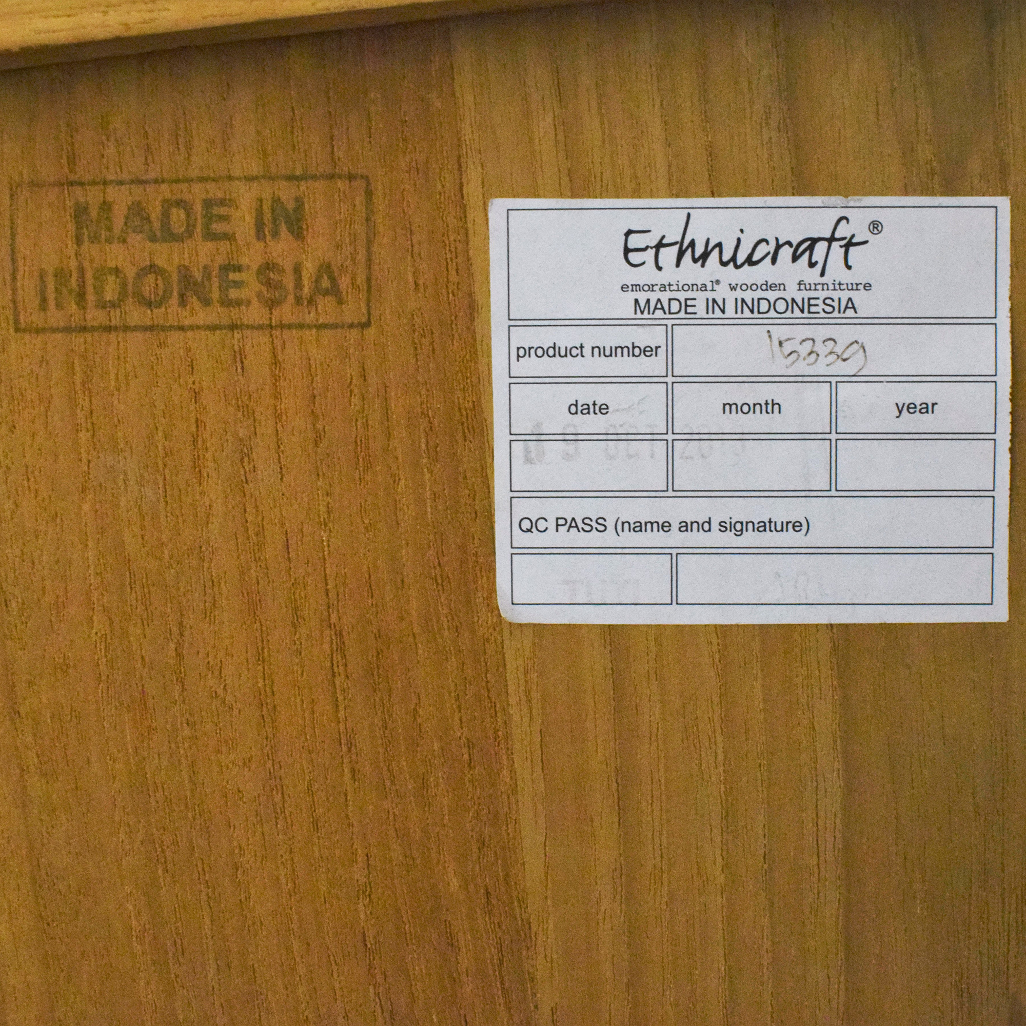 buy Ethnicraft TV Cupboard Ethnicraft