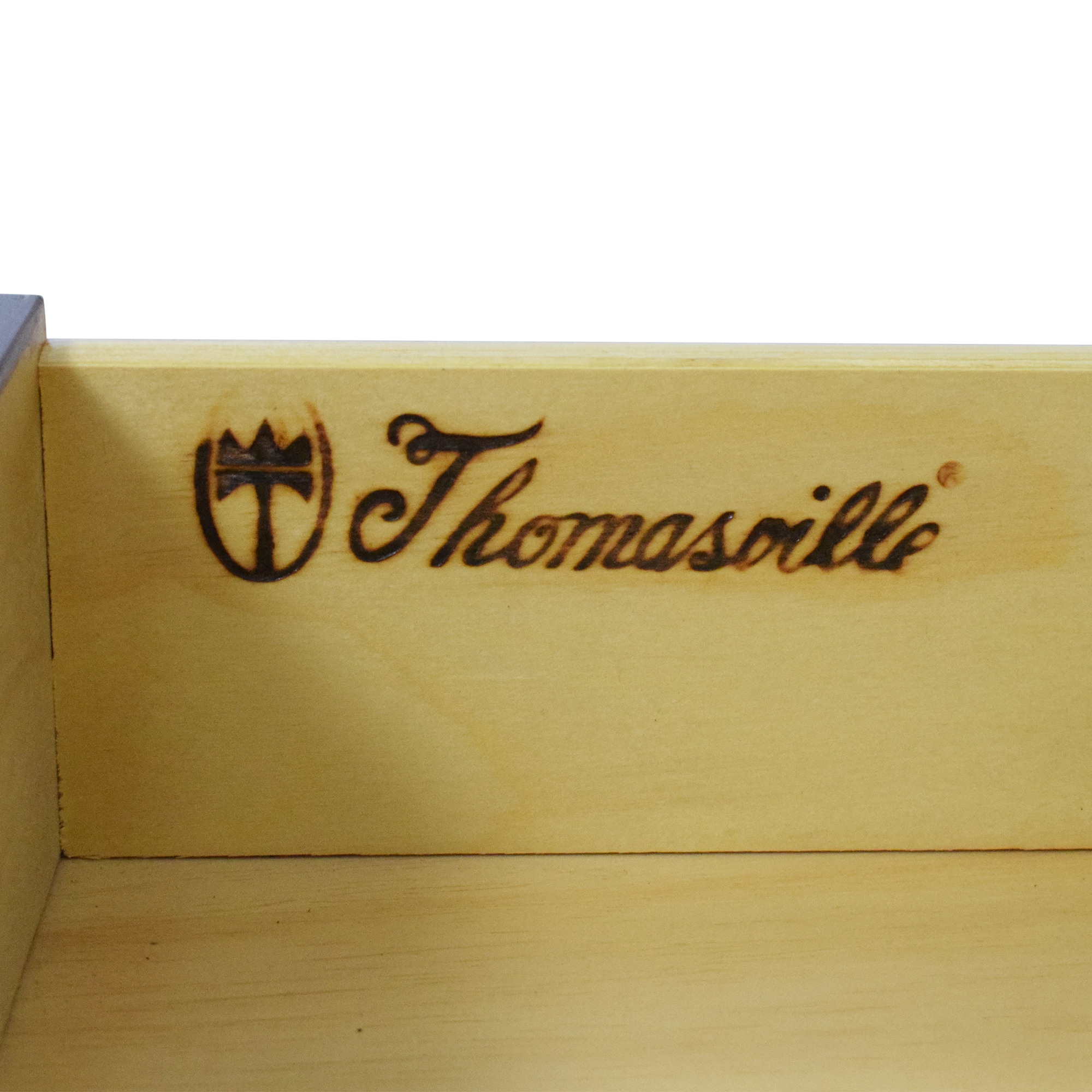 buy Thomasville Queen Anne-Style Clawfoot End Tables Thomasville Tables
