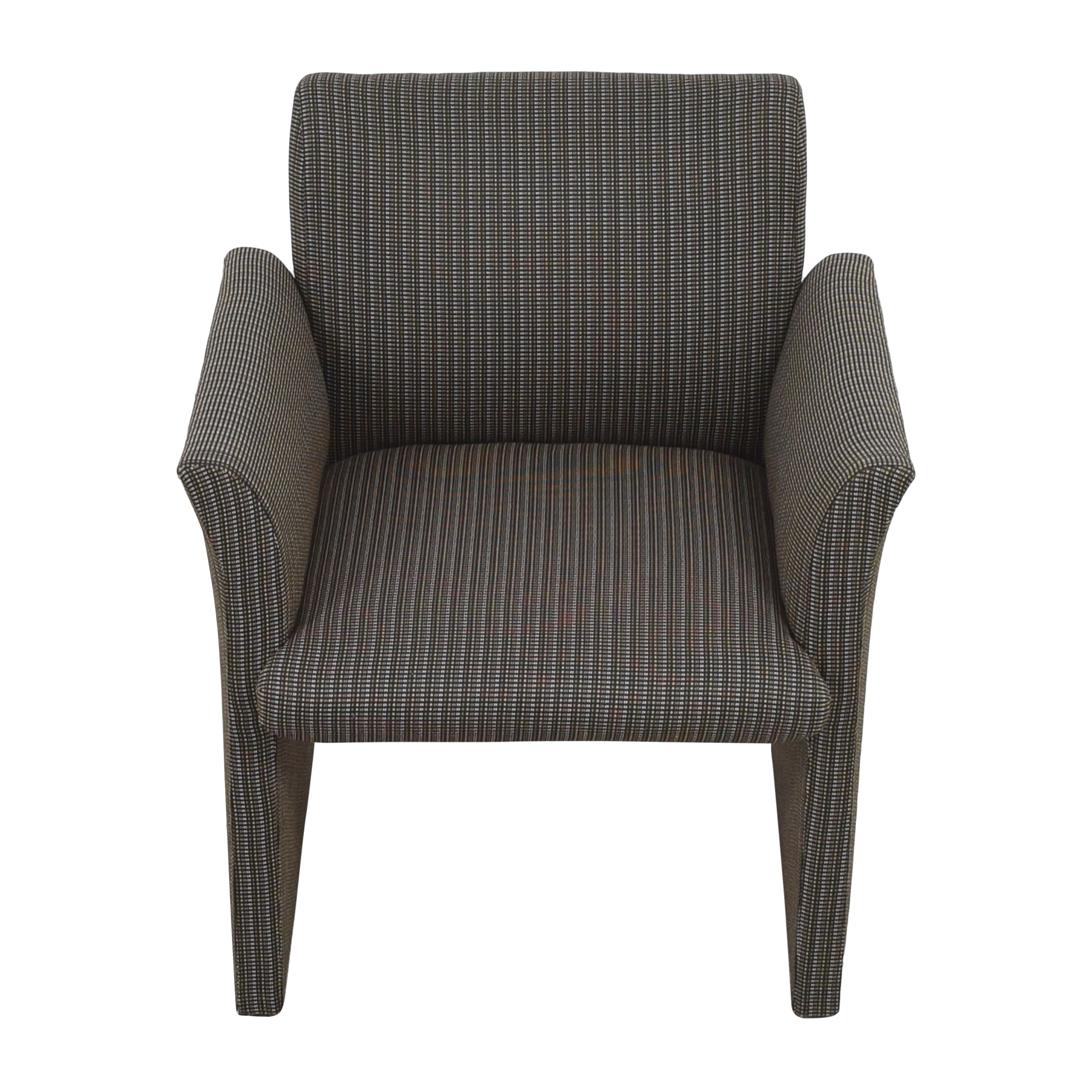 Contemporary Upholstered Club Chair discount