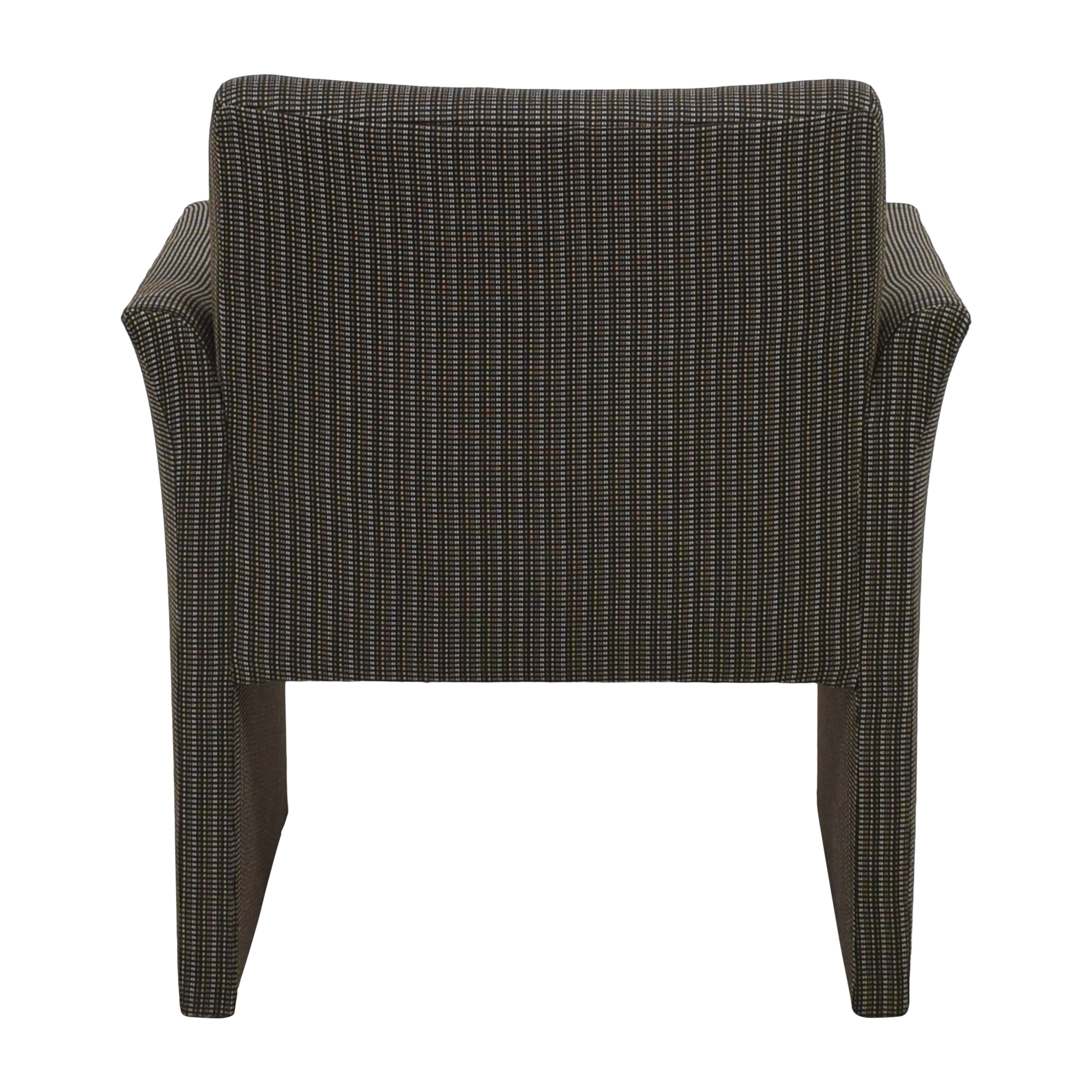 Contemporary Upholstered Club Chair dimensions