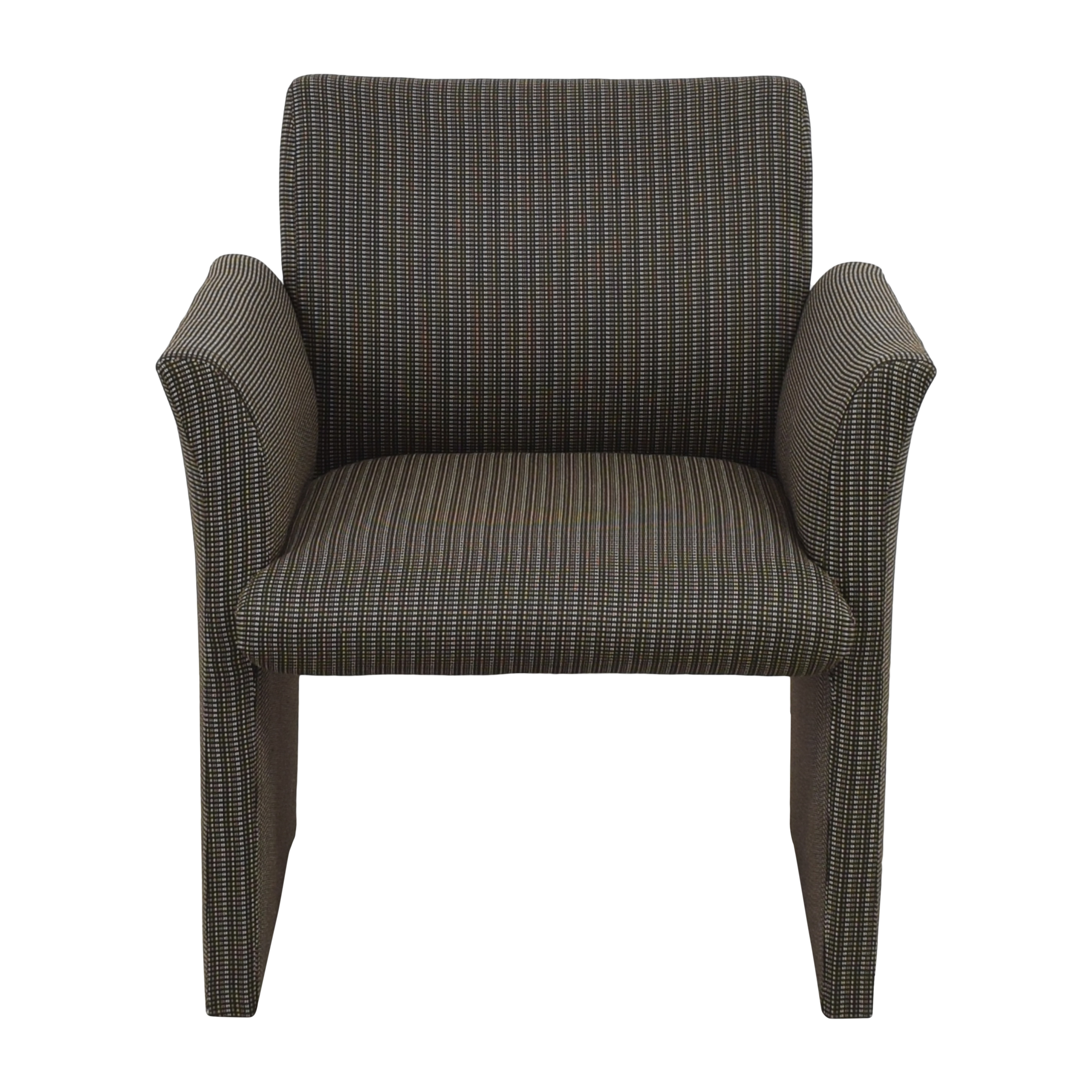 Contemporary Upholstered Club Chair Accent Chairs