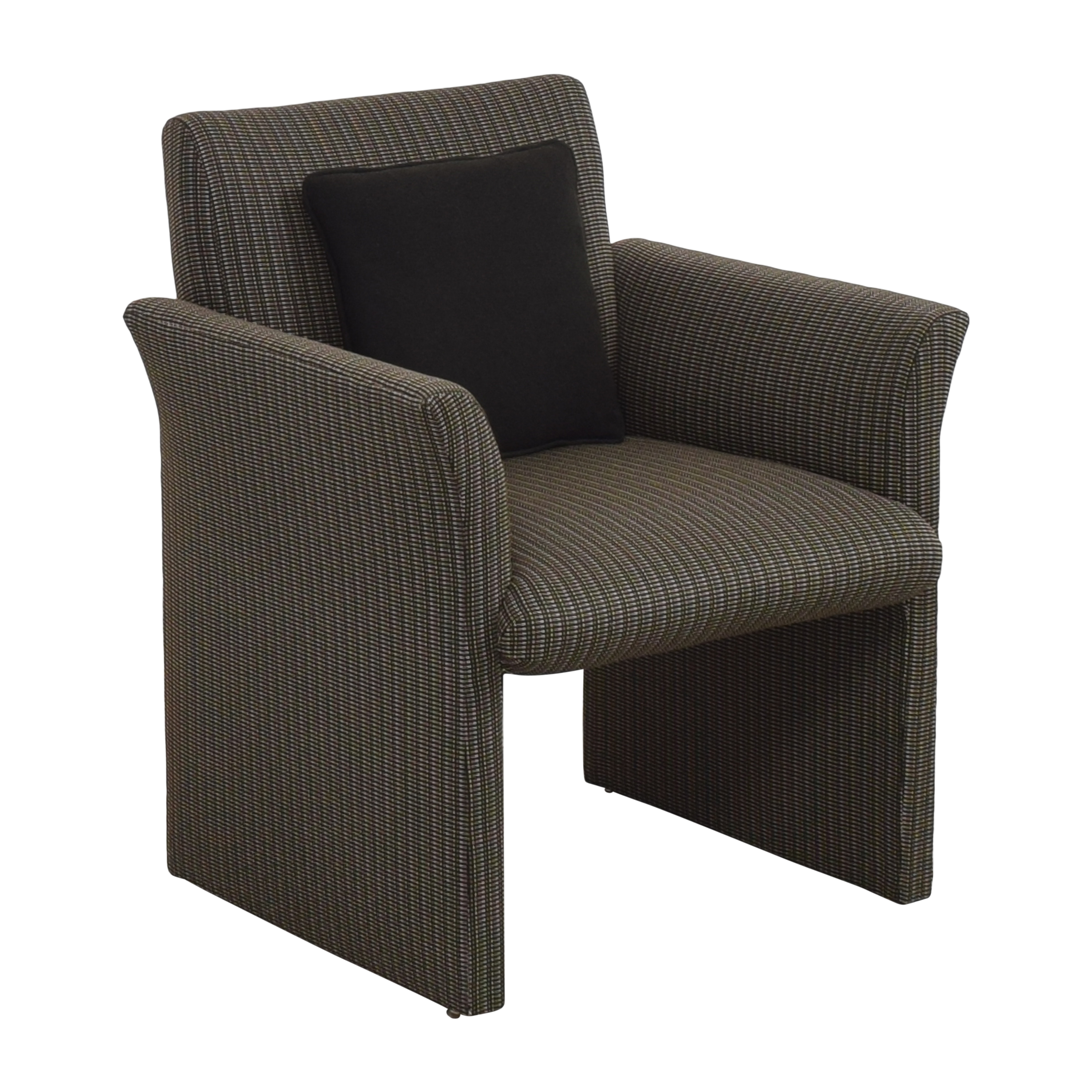 Contemporary Upholstered Club Chair sale