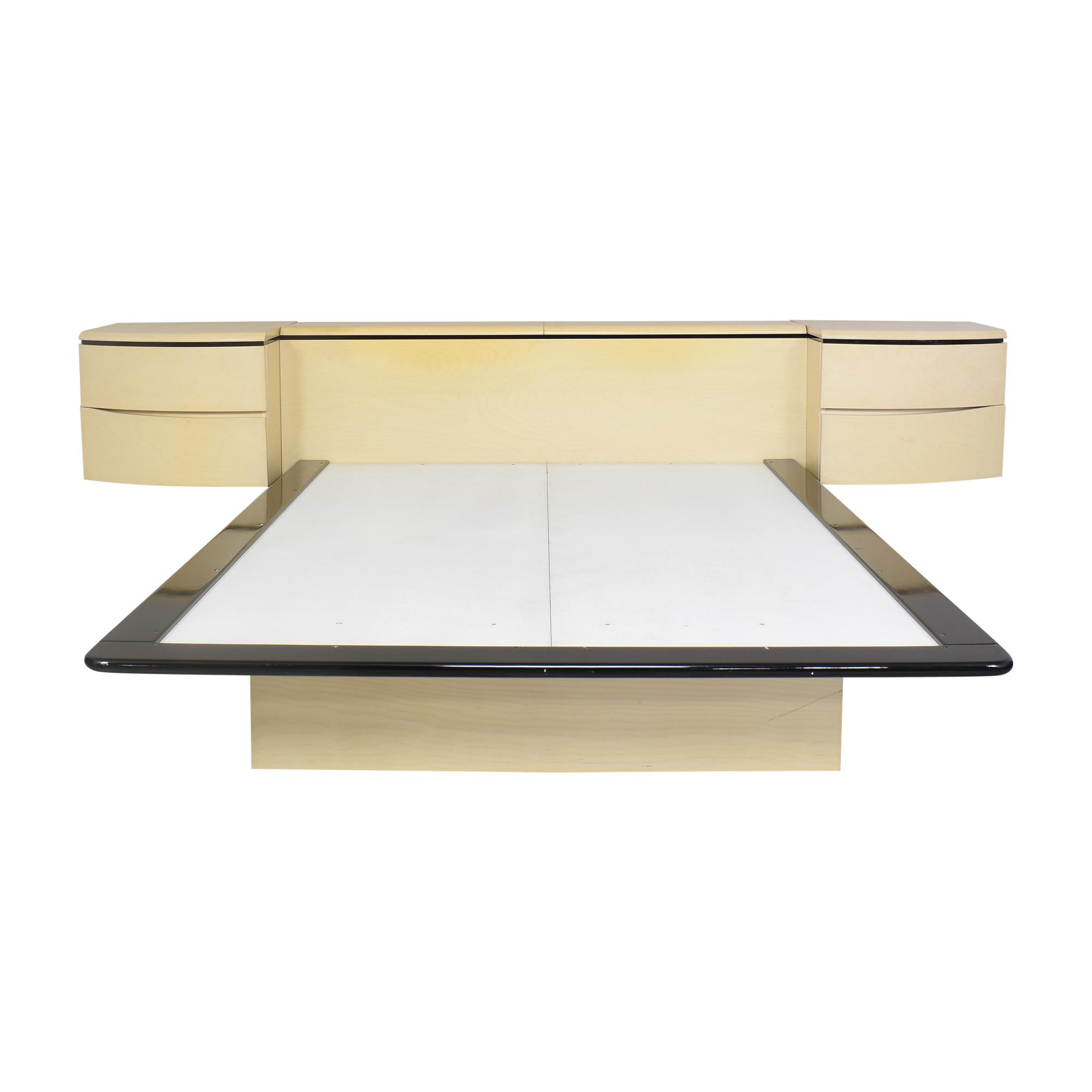 Modern Queen Platform Bed / Bed Frames