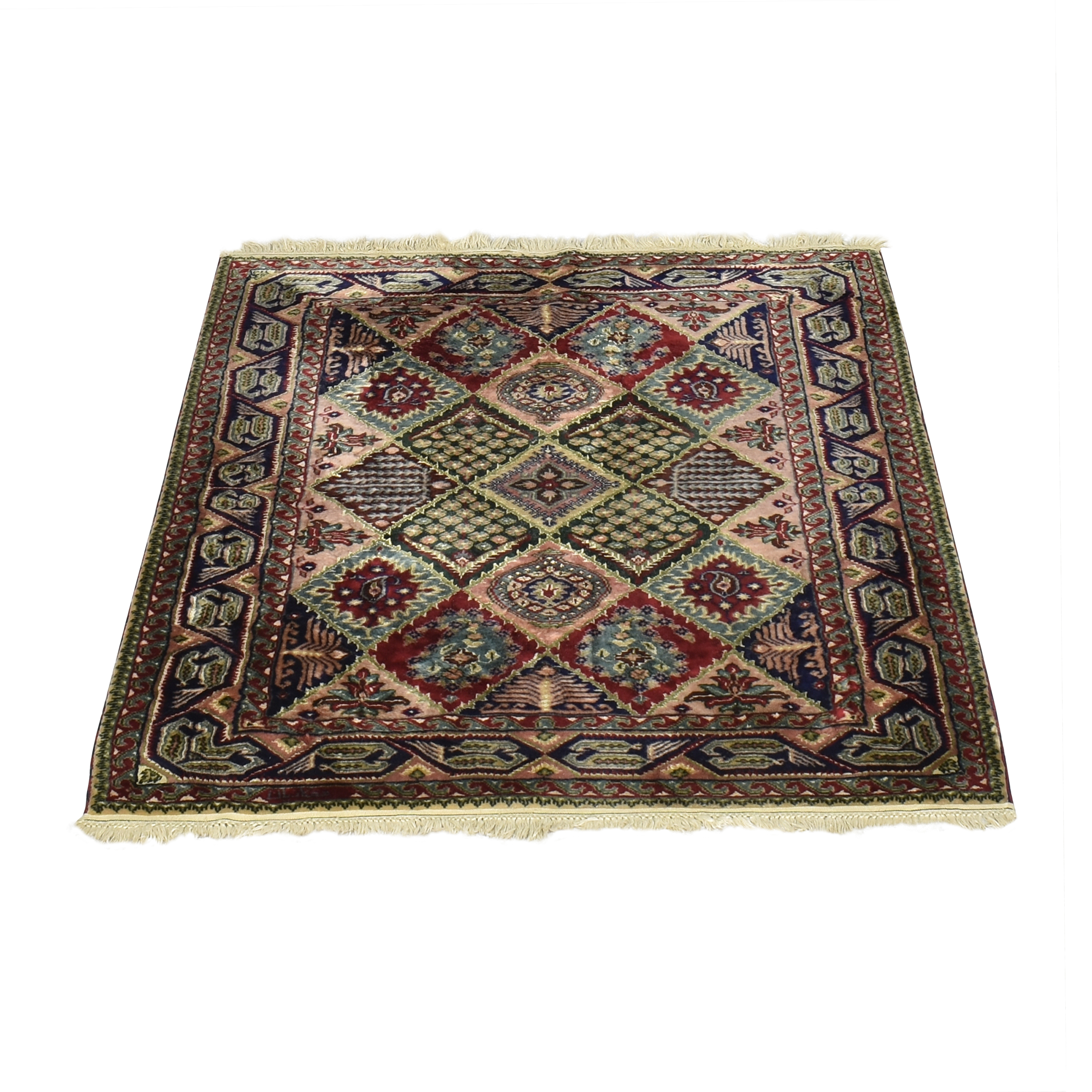 Patterned Area Rug multi colored