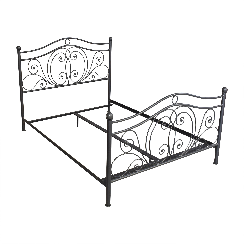 Openwork Queen Bed discount