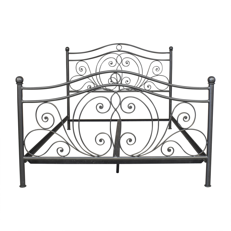 buy Openwork Queen Bed  Bed Frames
