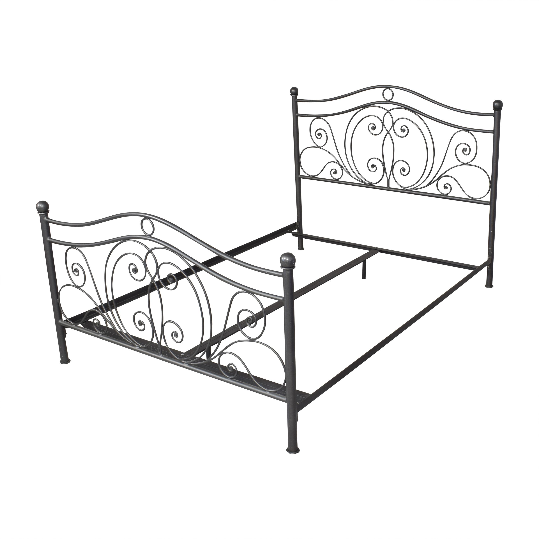Openwork Queen Bed nyc