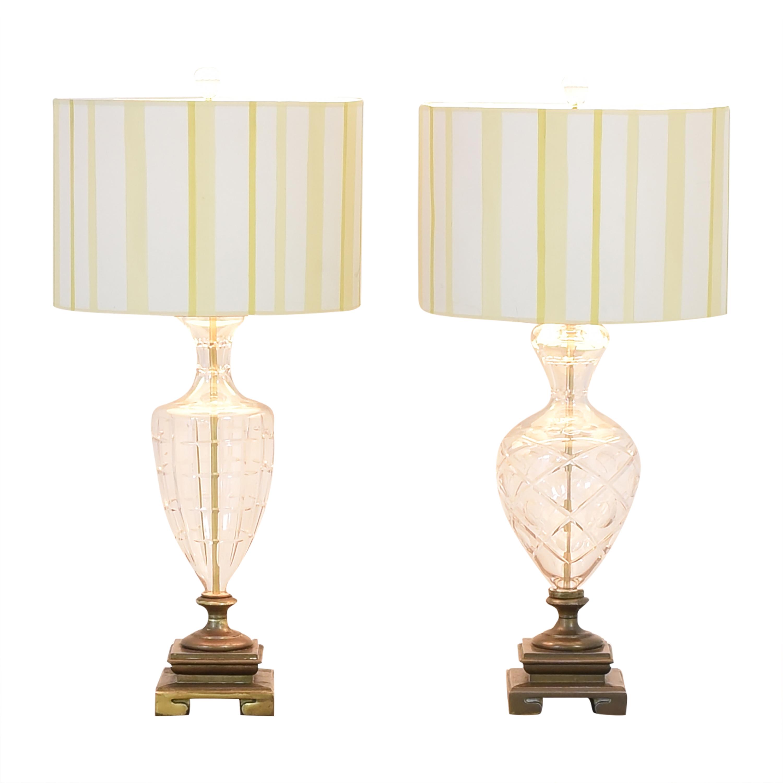Vase Table Lamps Bronze