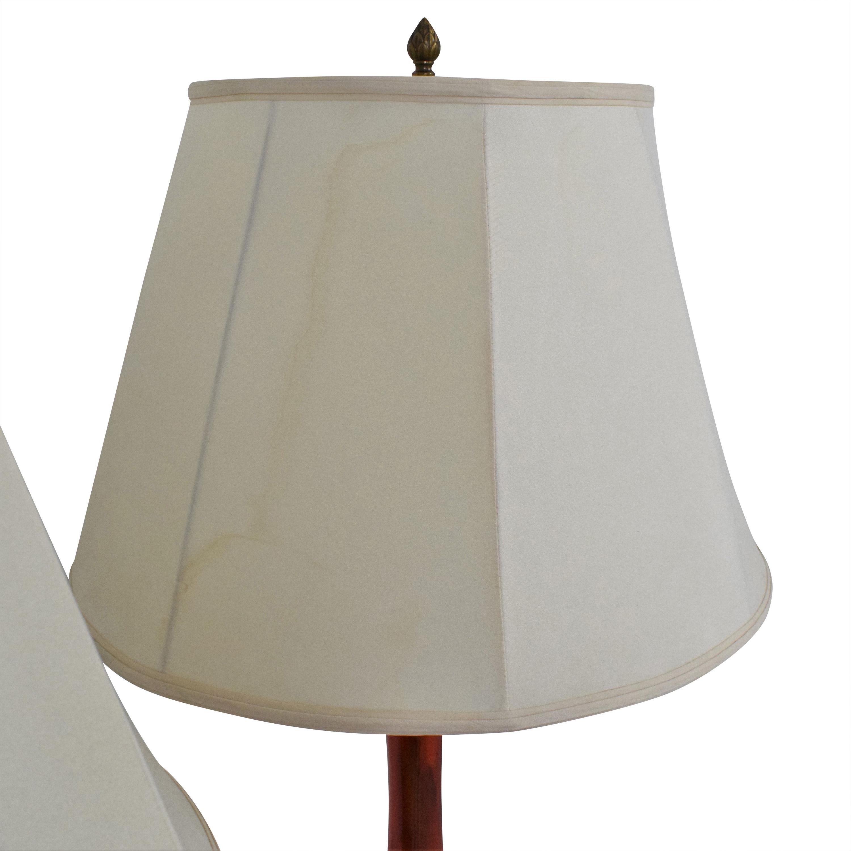 Custom Table Lamps Red / black