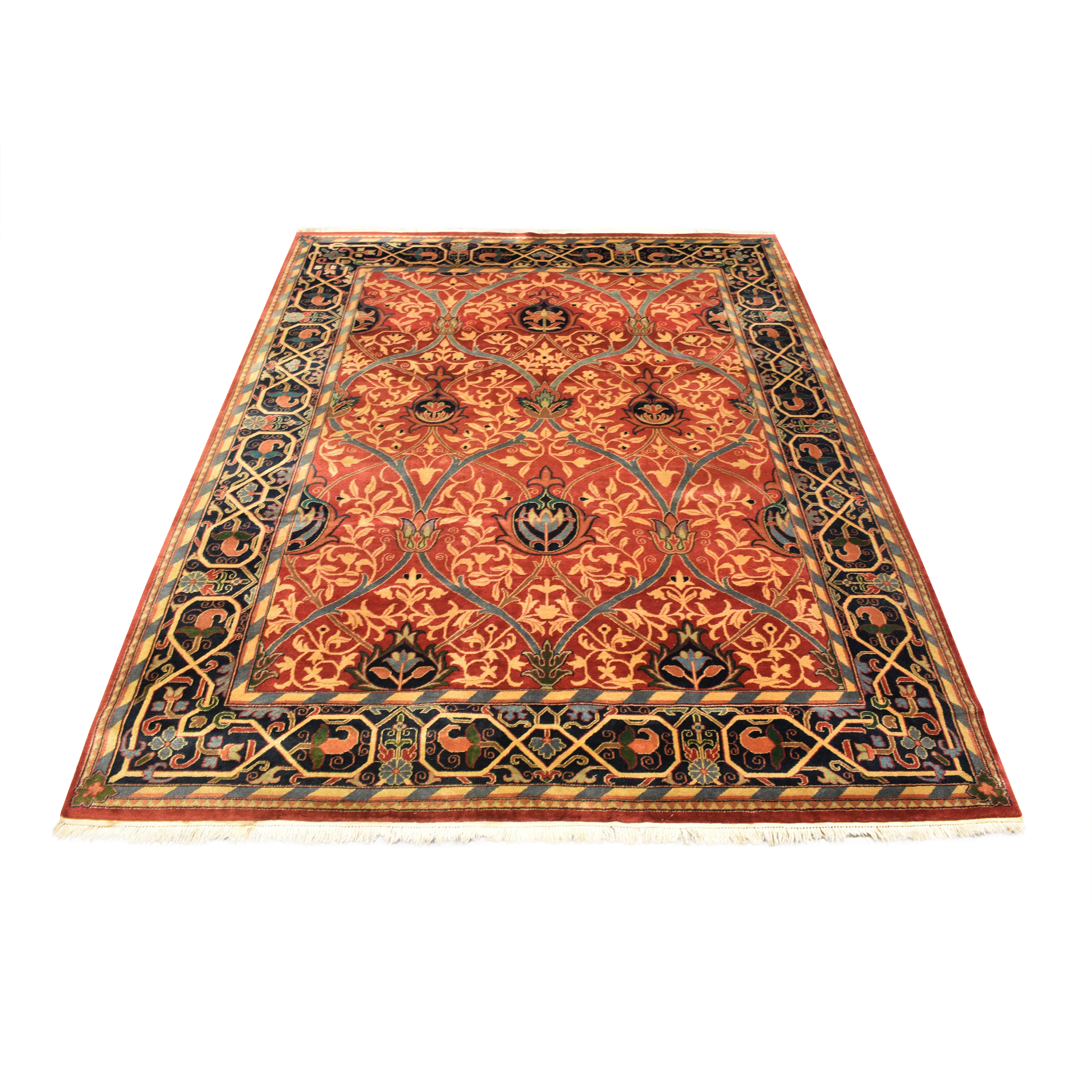 William Morris-Style Area Rug for sale