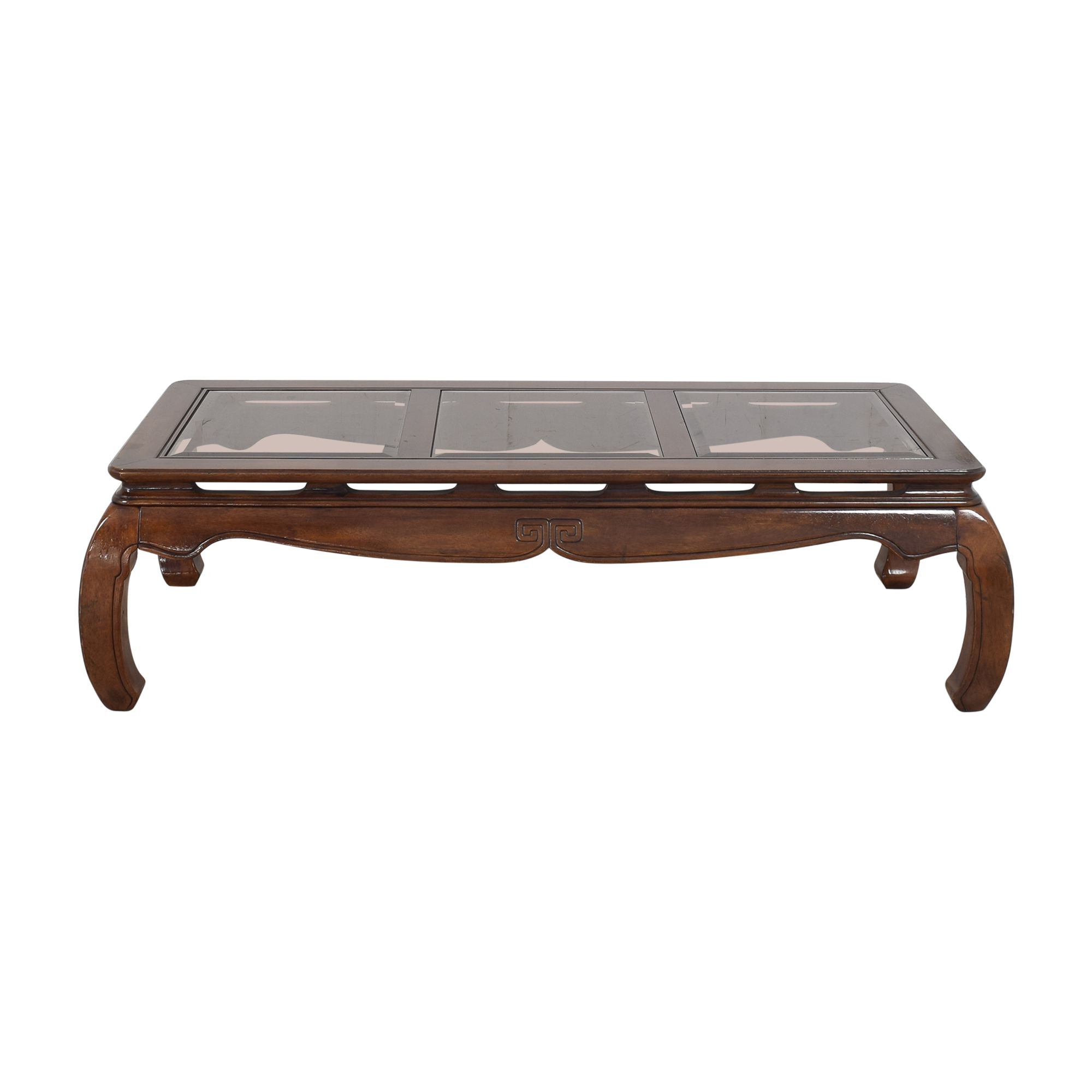 Panel Top Coffee Table / Coffee Tables