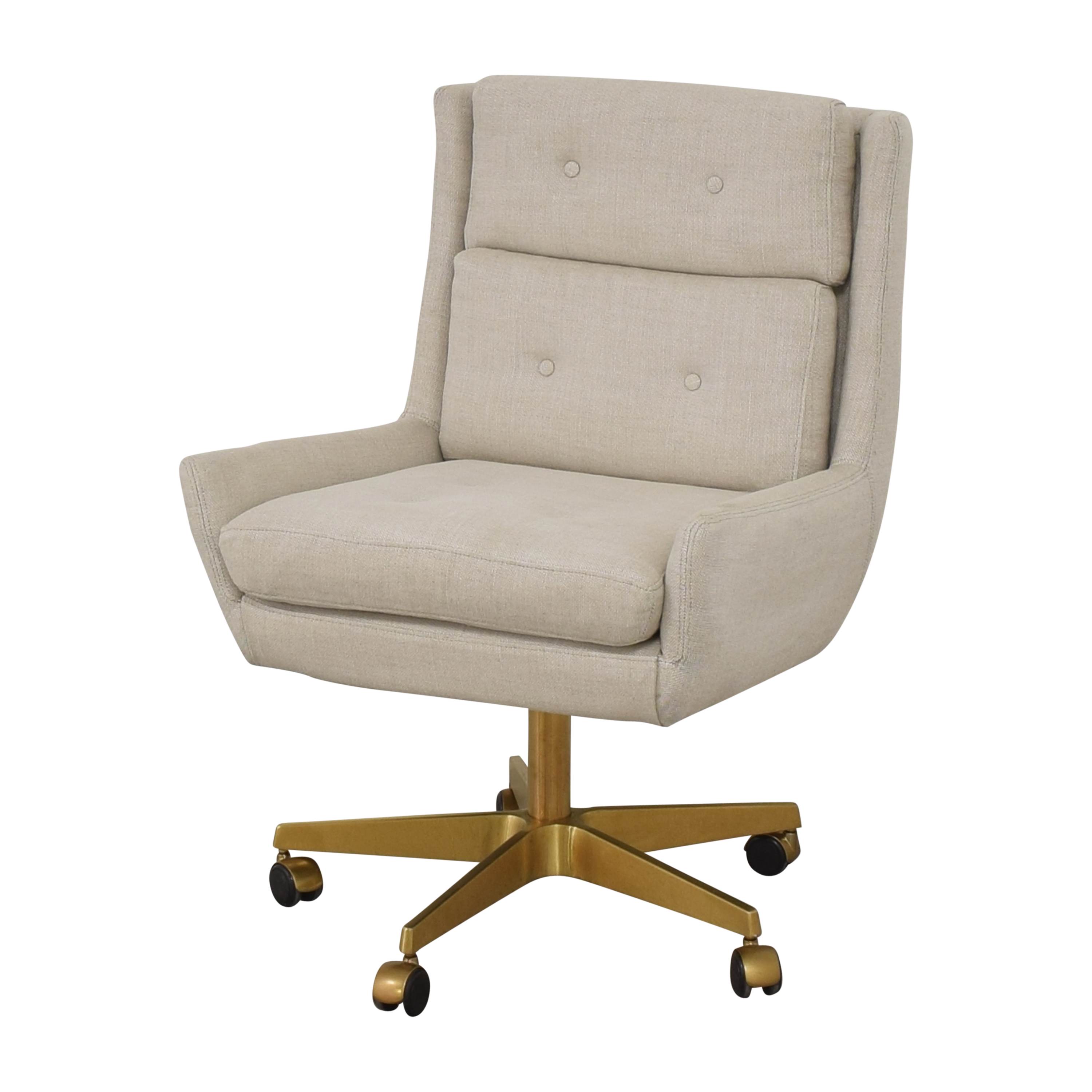 Restoration Hardware Restoration Hardware Motorcity Desk Chair Home Office Chairs