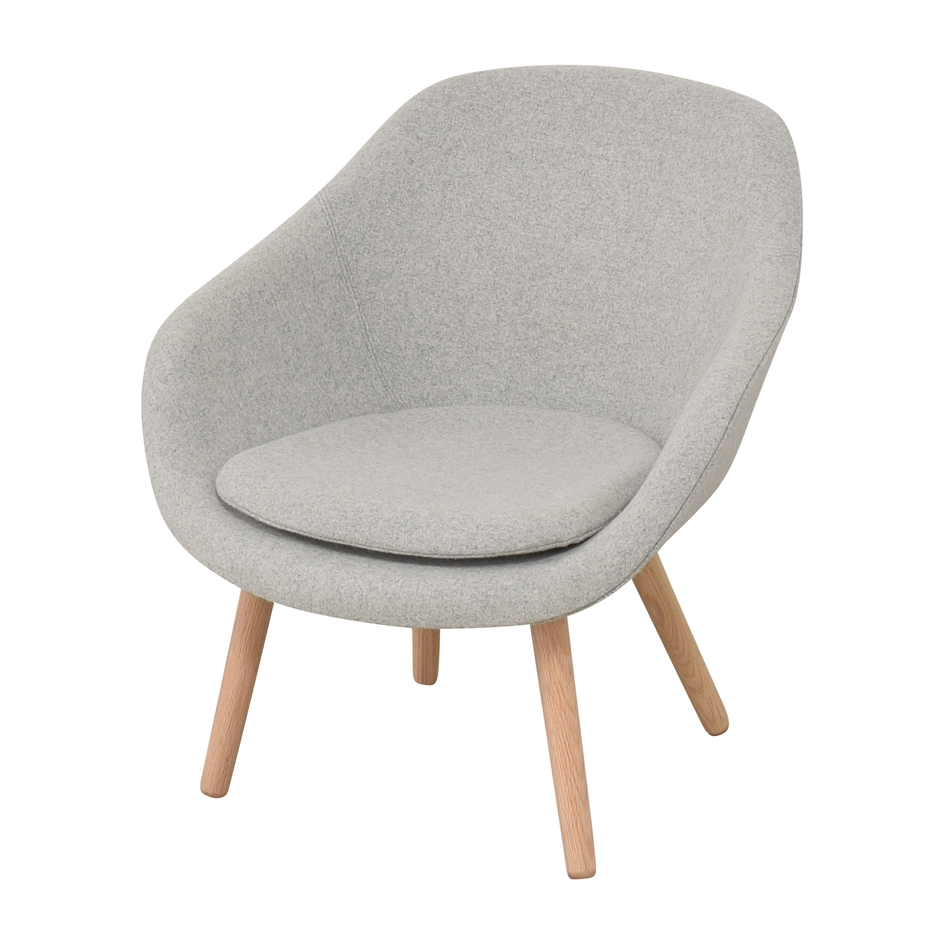 Hay Hay A Lounge 82 Arm Chair with Ottoman for sale