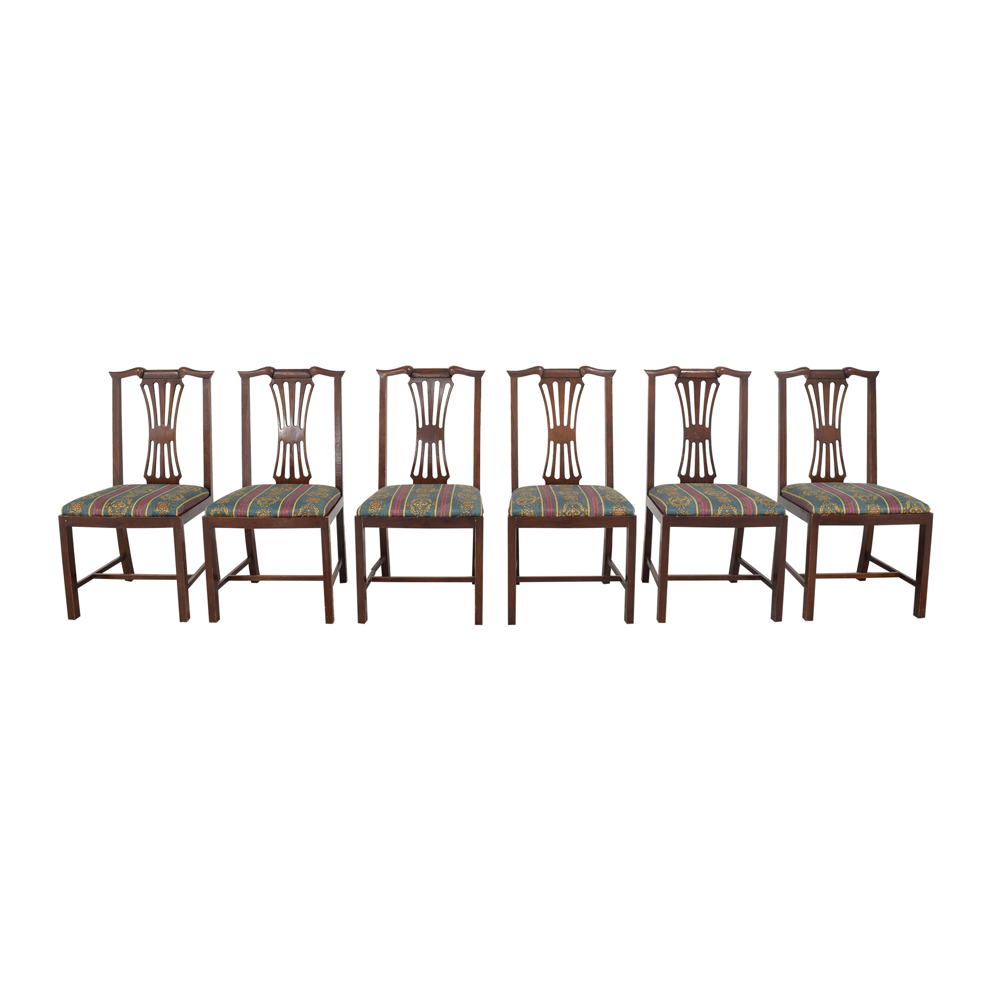 Chippendale Dining Side Chairs ma