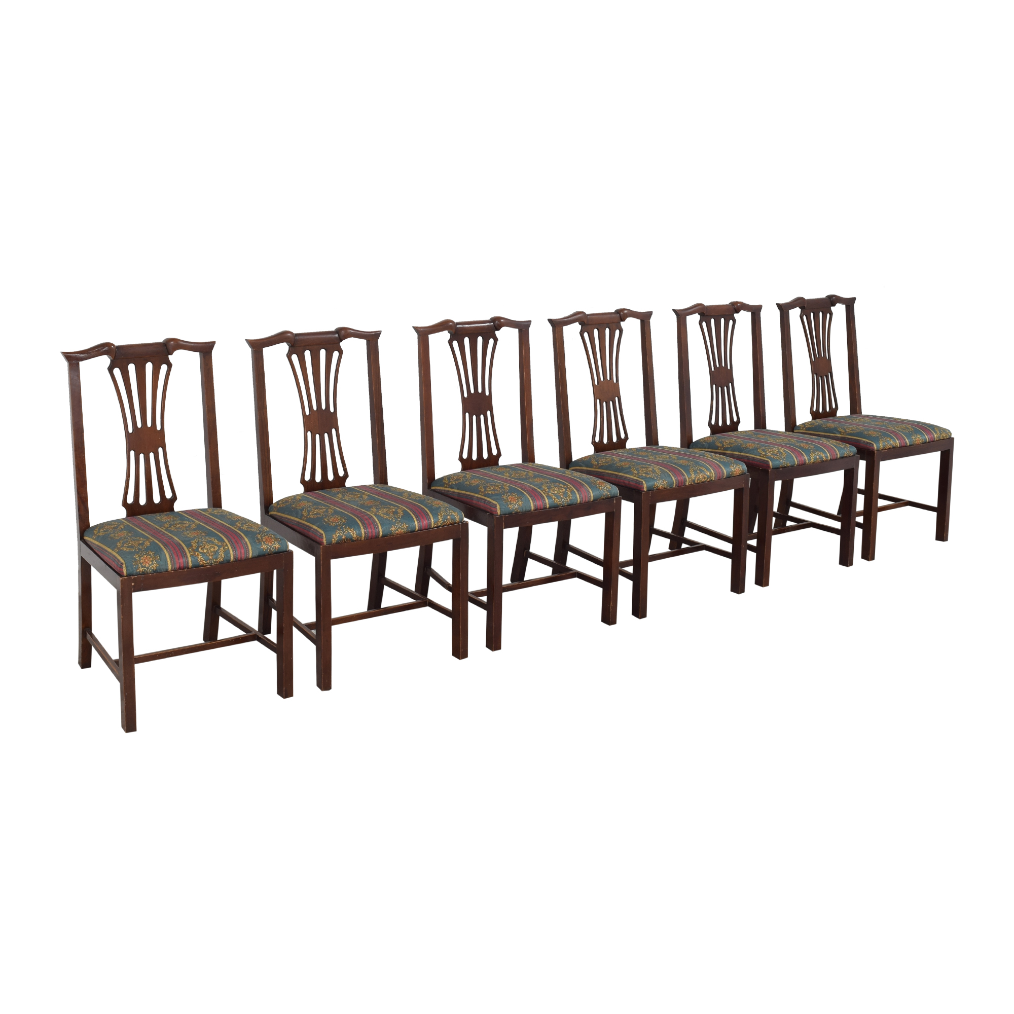 Chippendale Dining Side Chairs multi